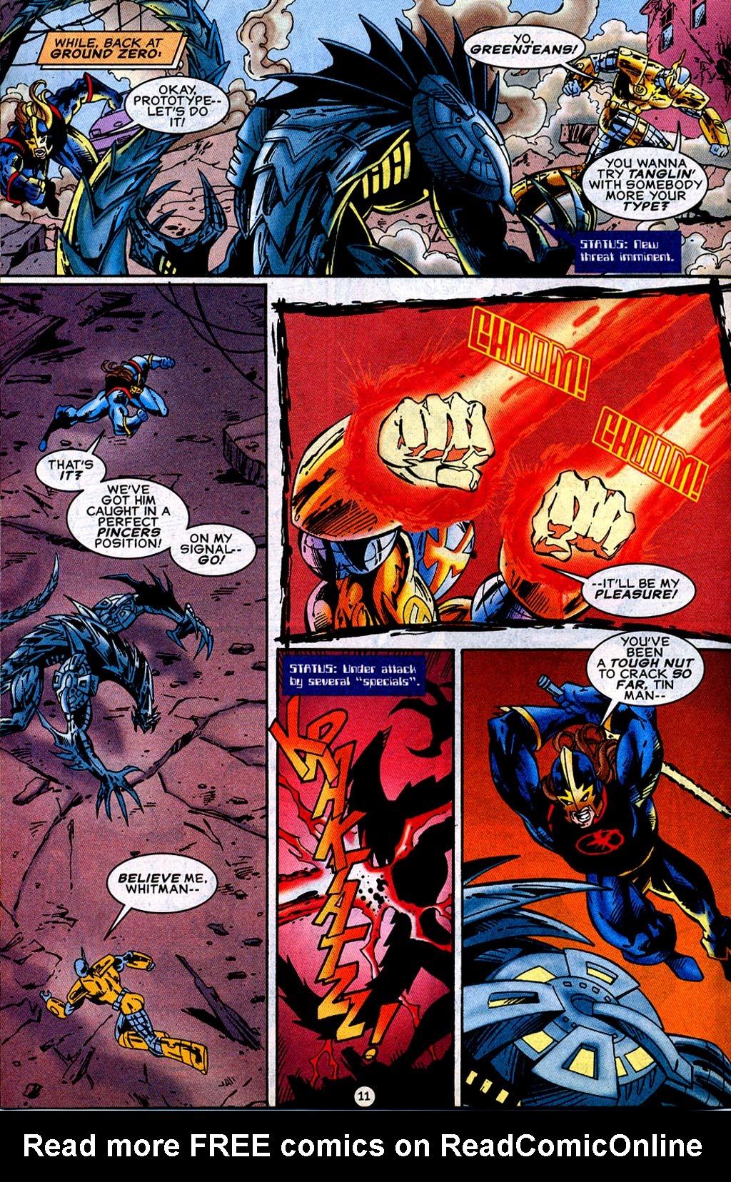 Read online UltraForce (1995) comic -  Issue #12 - 13