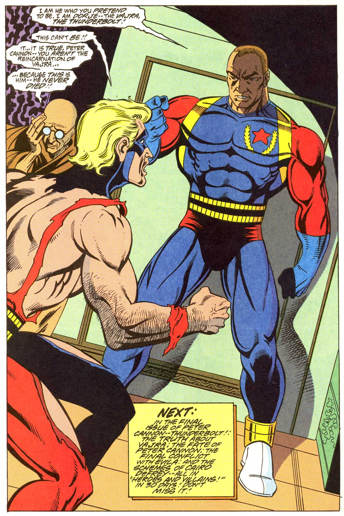 Read online Peter Cannon--Thunderbolt (1992) comic -  Issue #11 - 23