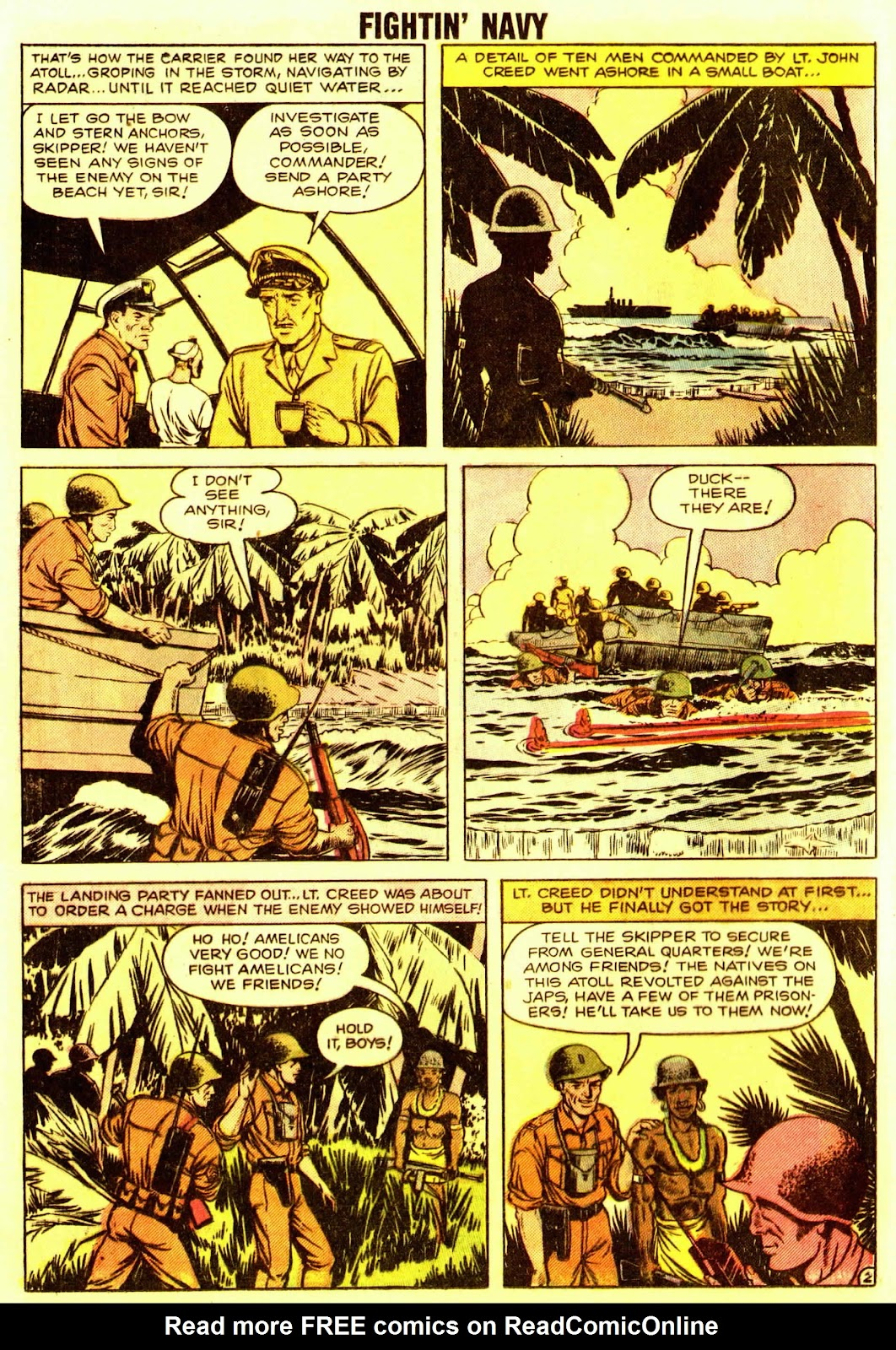Read online Fightin' Navy comic -  Issue #83 - 84