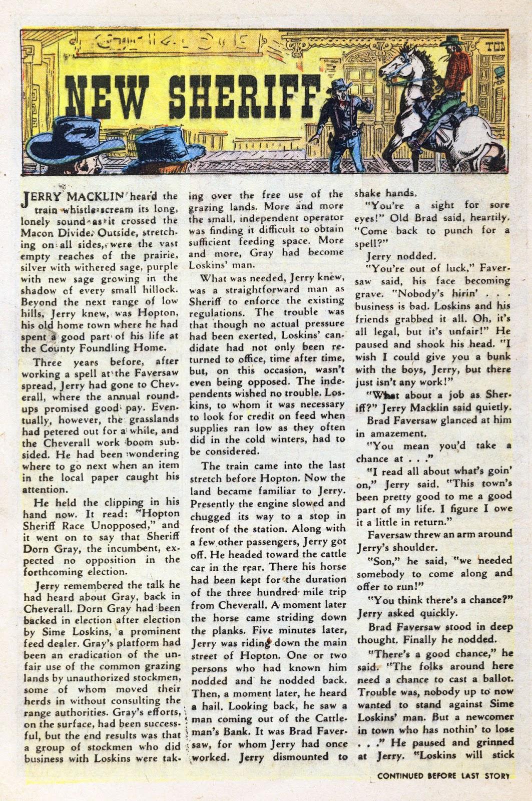 Gunsmoke Western issue 38 - Page 8