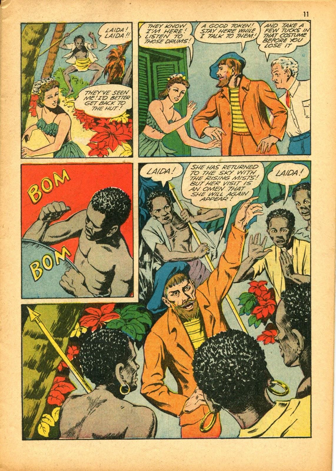 Read online Super-Magician Comics comic -  Issue #15 - 11