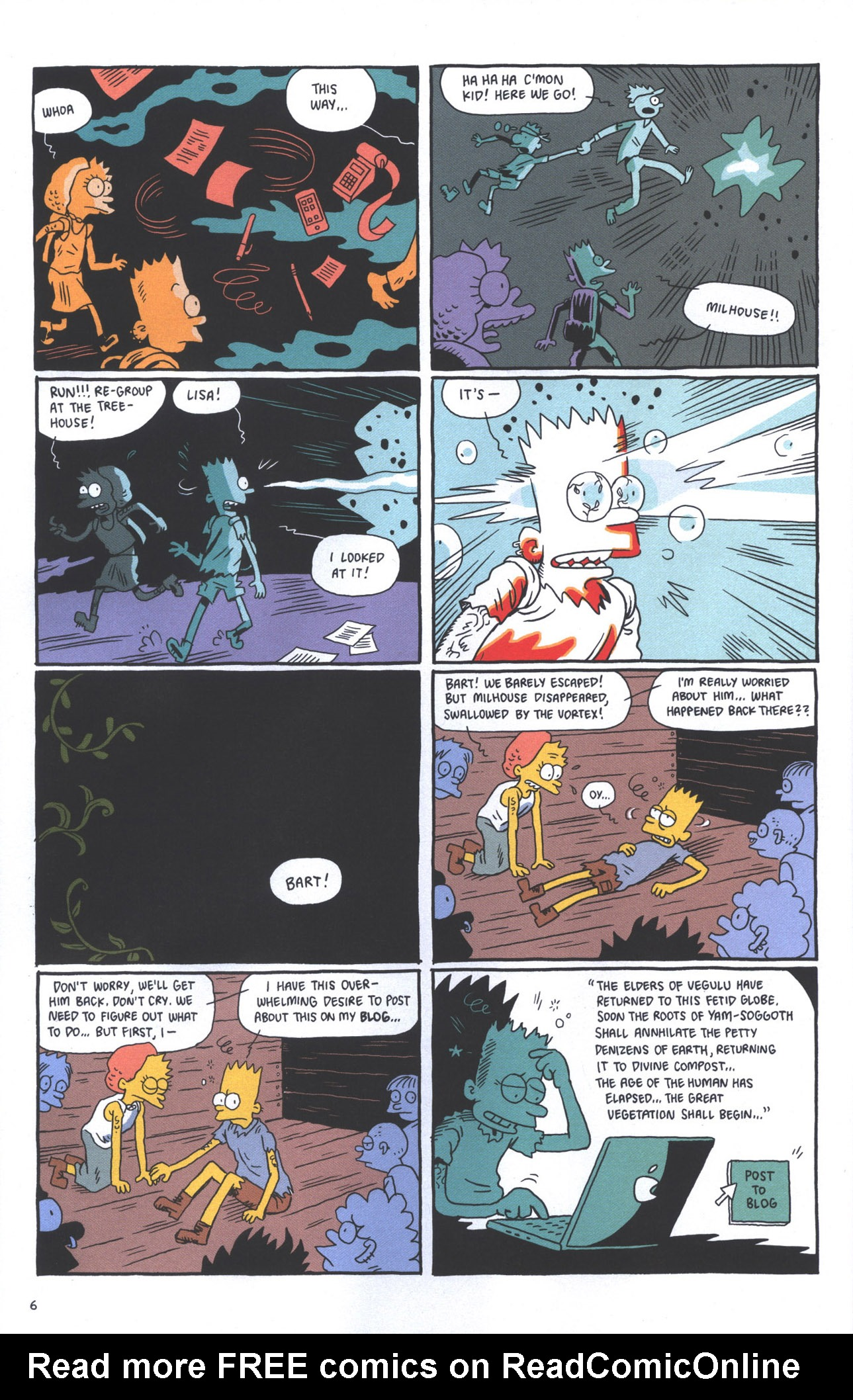 Read online Treehouse of Horror comic -  Issue #15 - 9