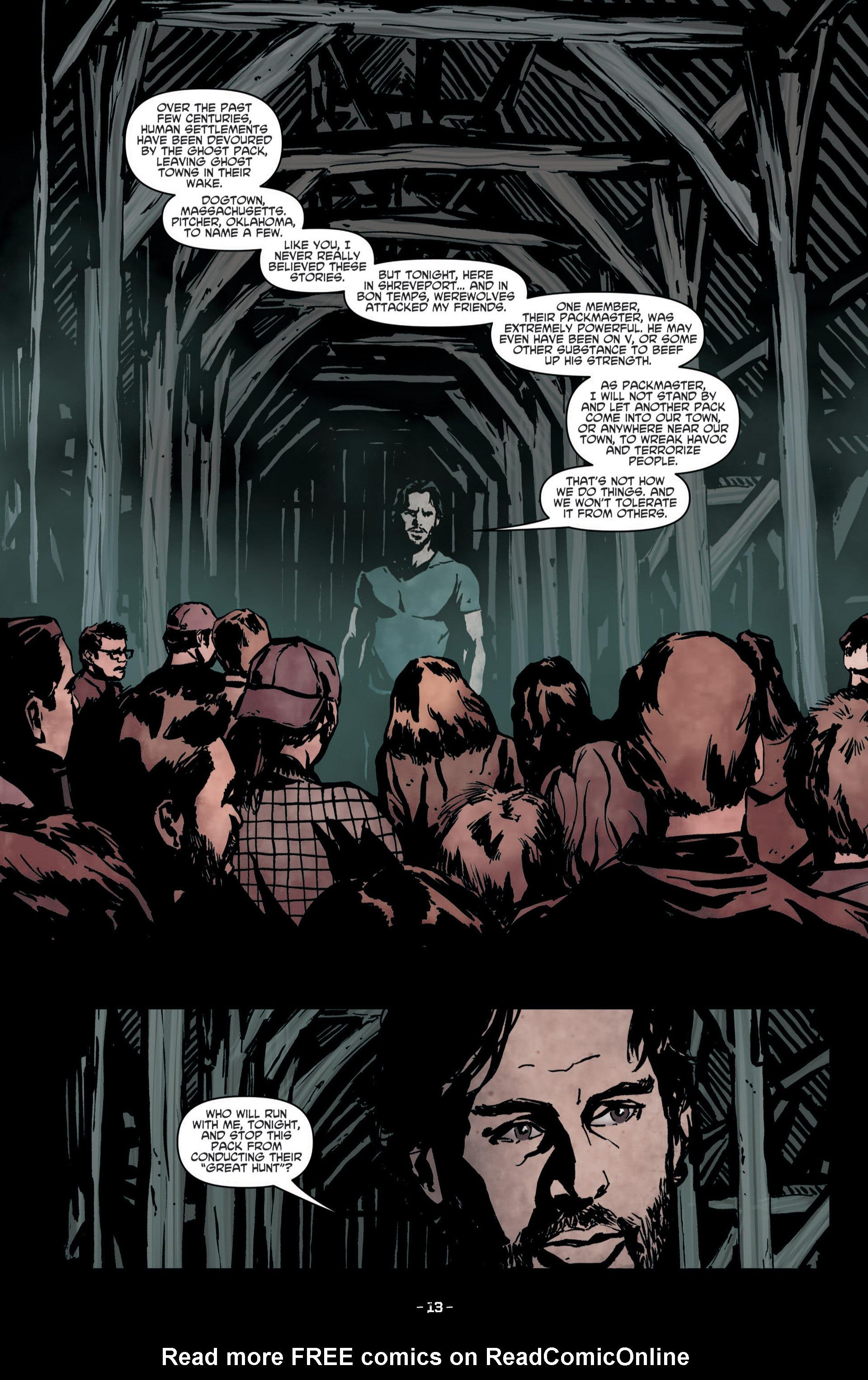 Read online True Blood (2012) comic -  Issue #8 - 15