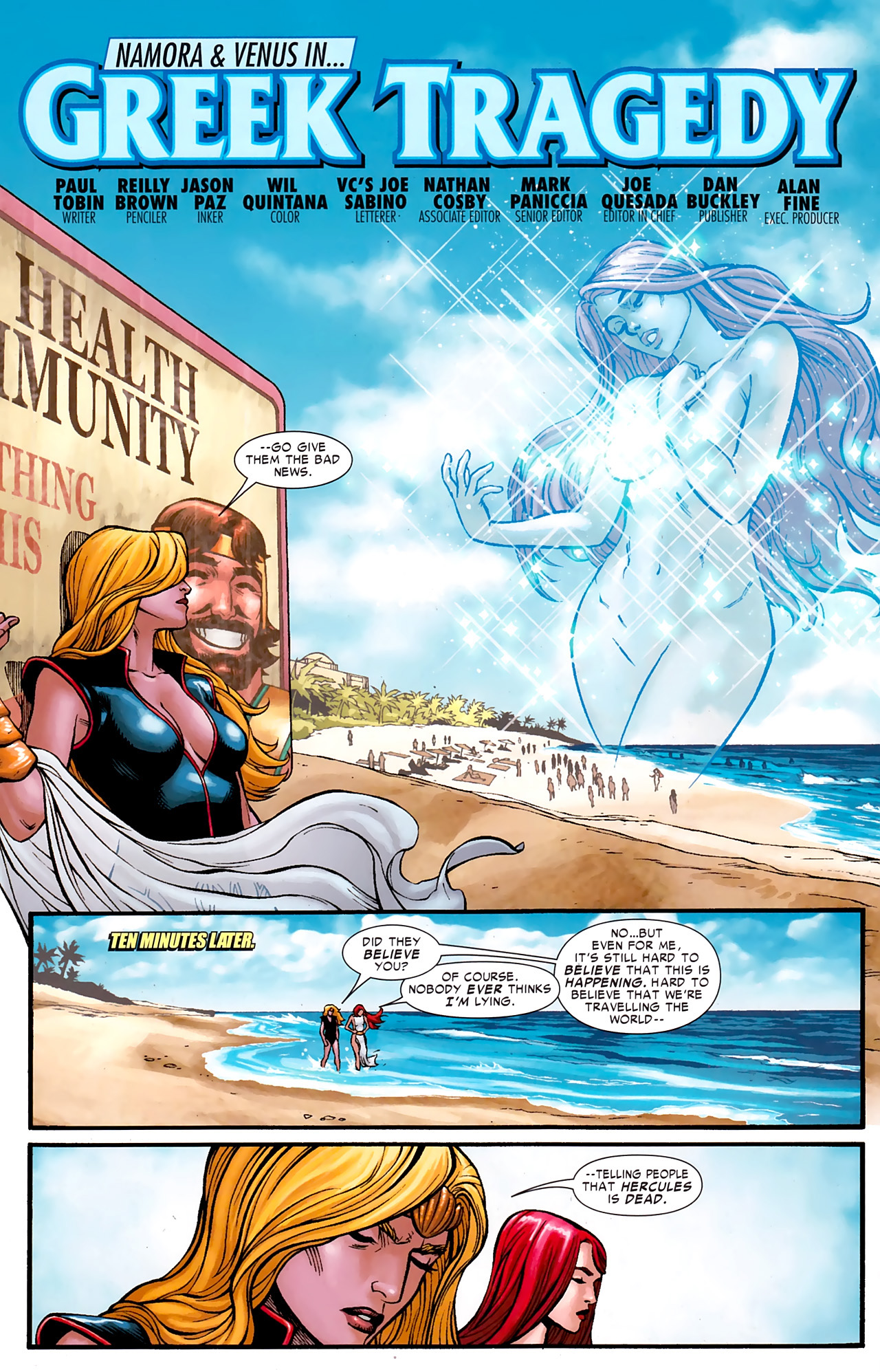 Read online Hercules: Fall of an Avenger comic -  Issue #1 - 25