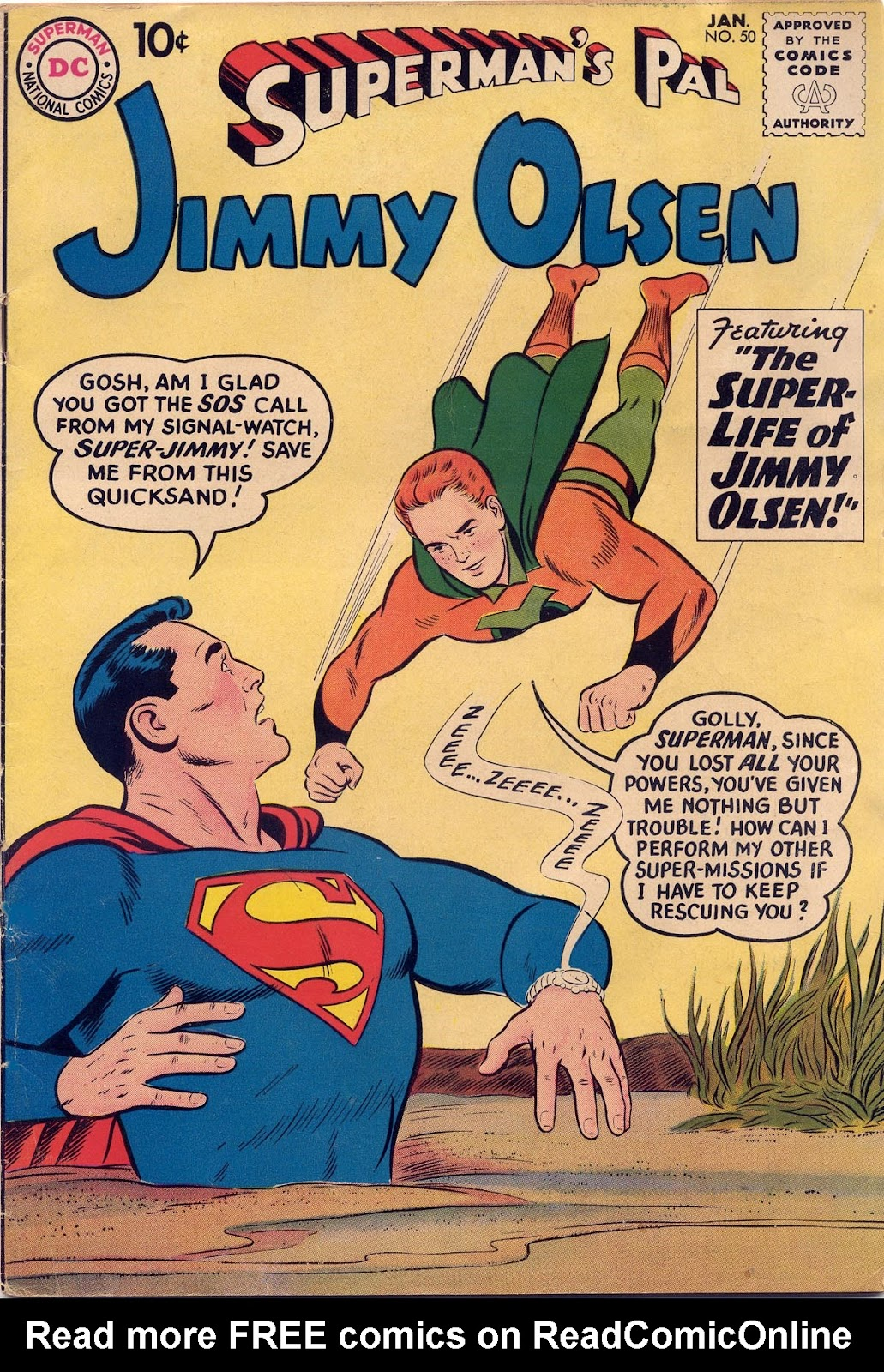 Supermans Pal Jimmy Olsen (1954) 50 Page 1