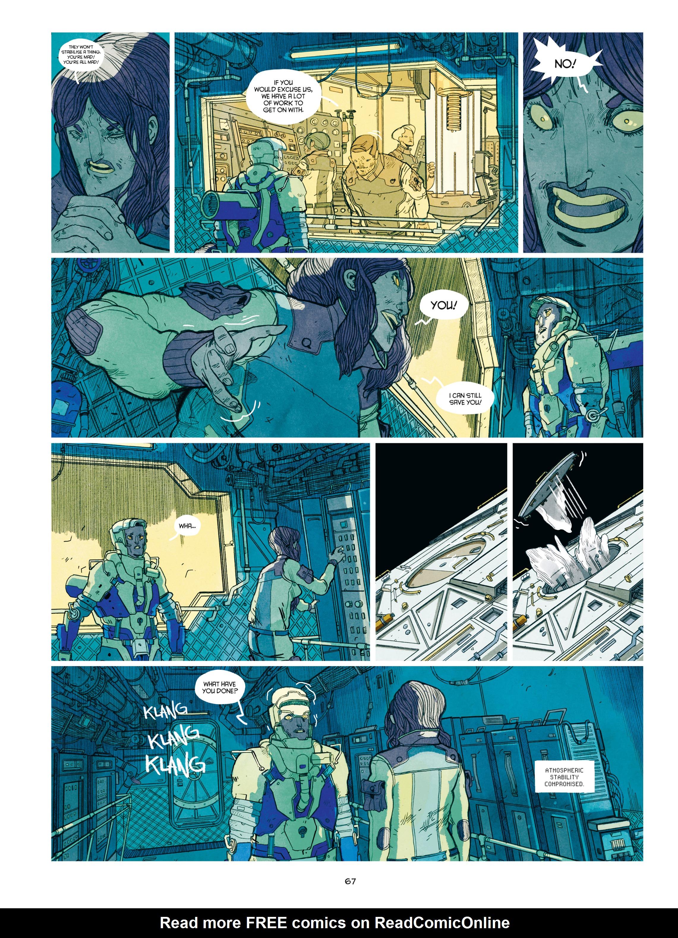 Read online Shangri-La comic -  Issue # Full - 68