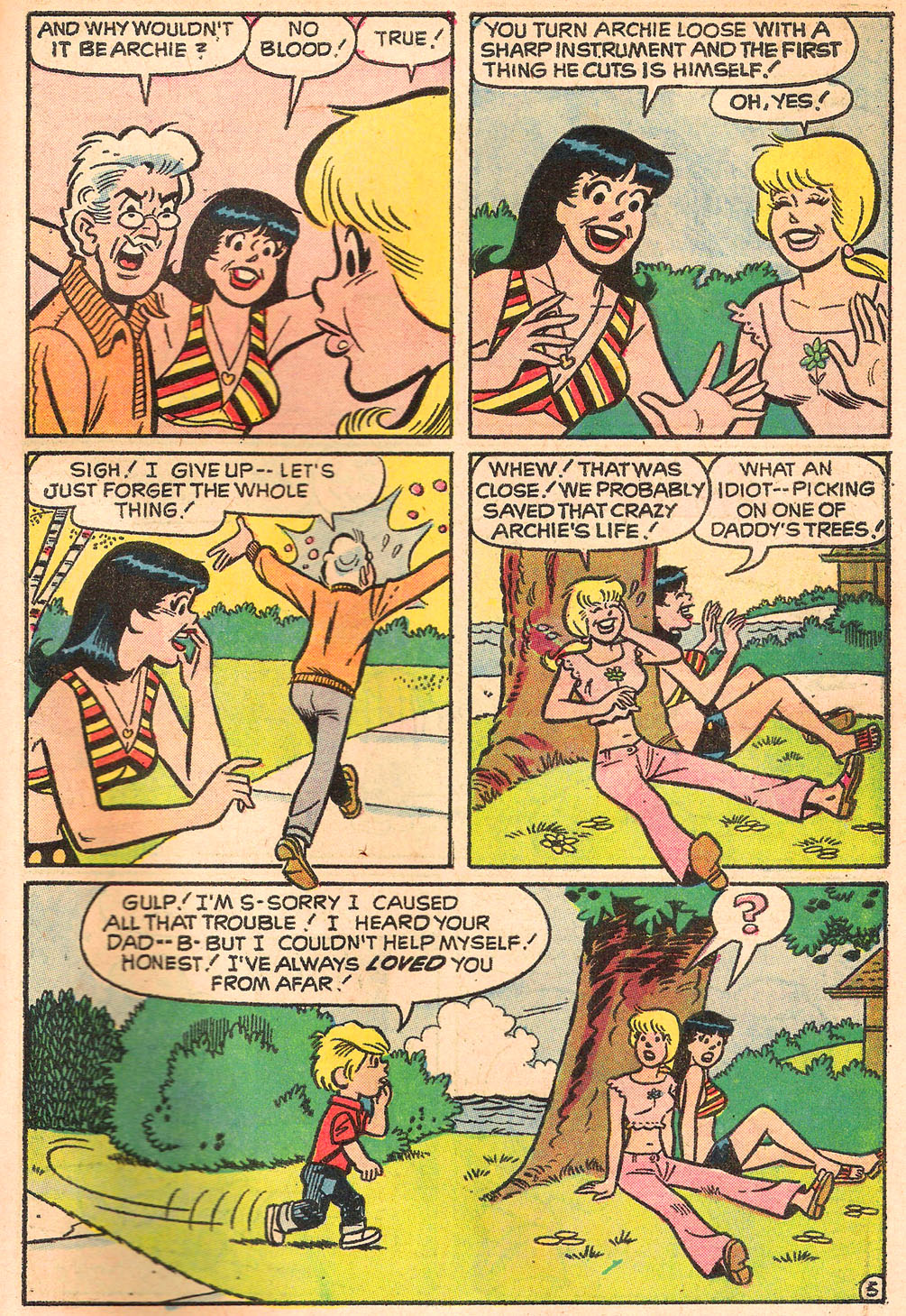 Read online Archie's Girls Betty and Veronica comic -  Issue #205 - 31