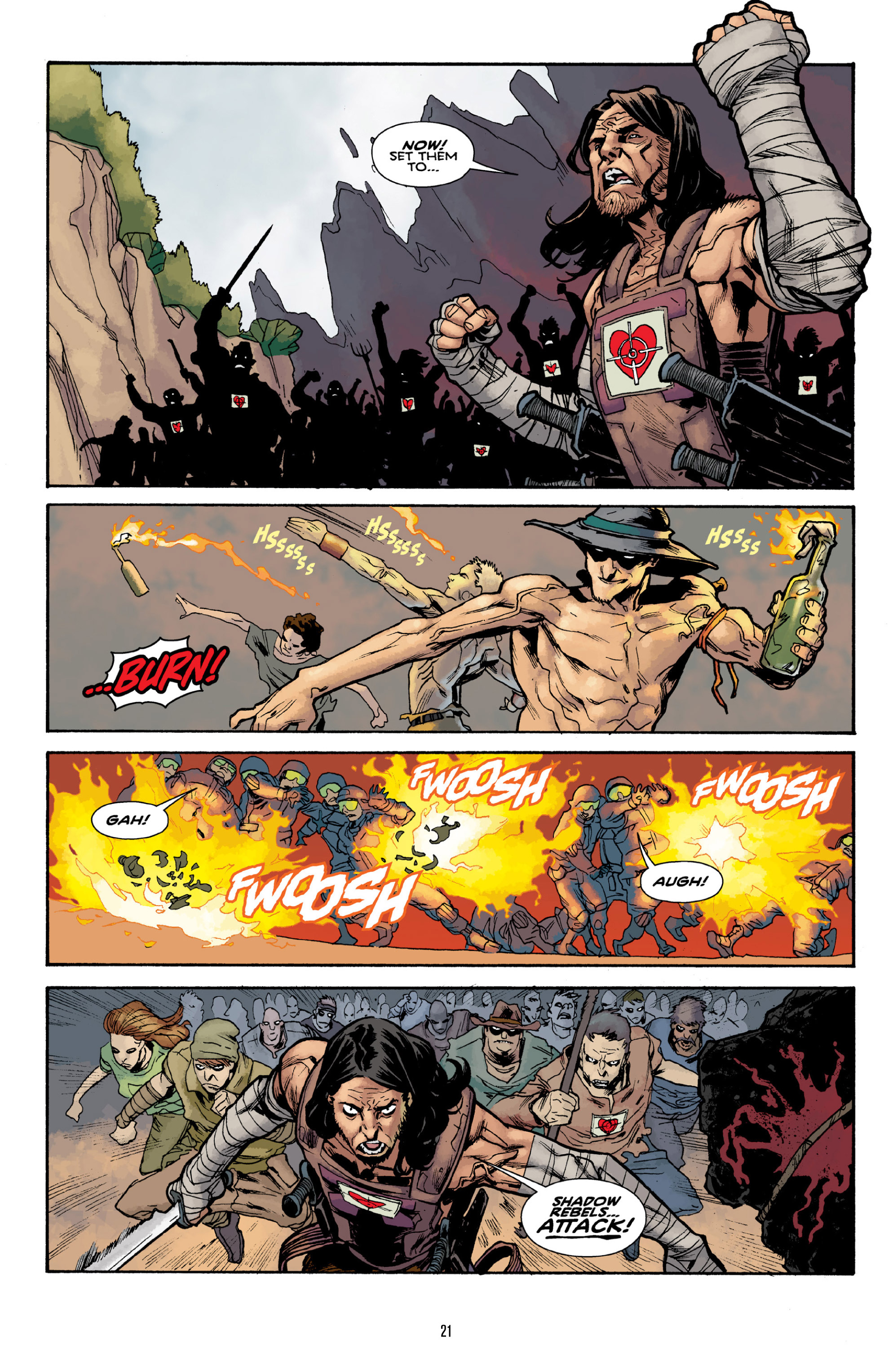 Read online Orchid comic -  Issue # TPB 3 - 21