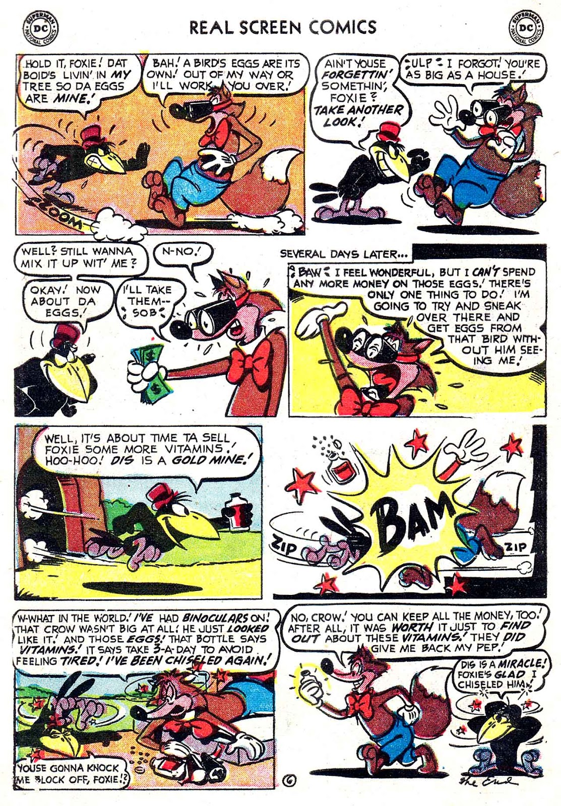 Real Screen Comics issue 49 - Page 8