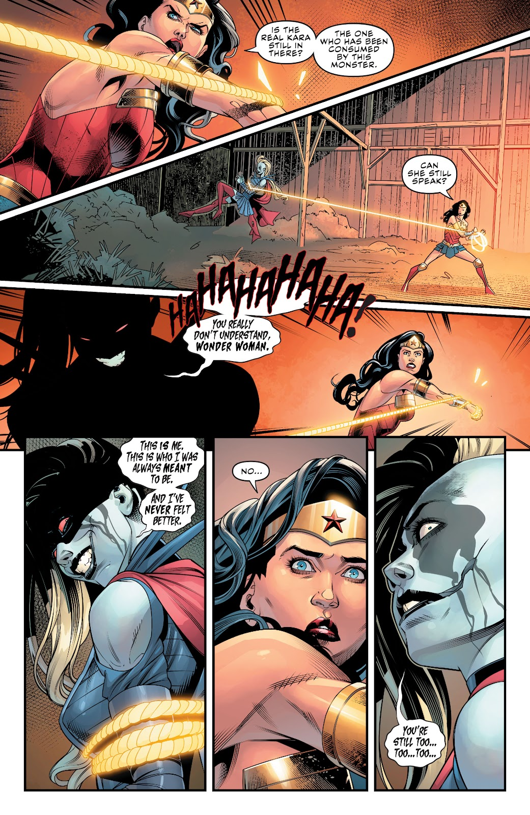 Read online Supergirl (2016) comic -  Issue #38 - 20