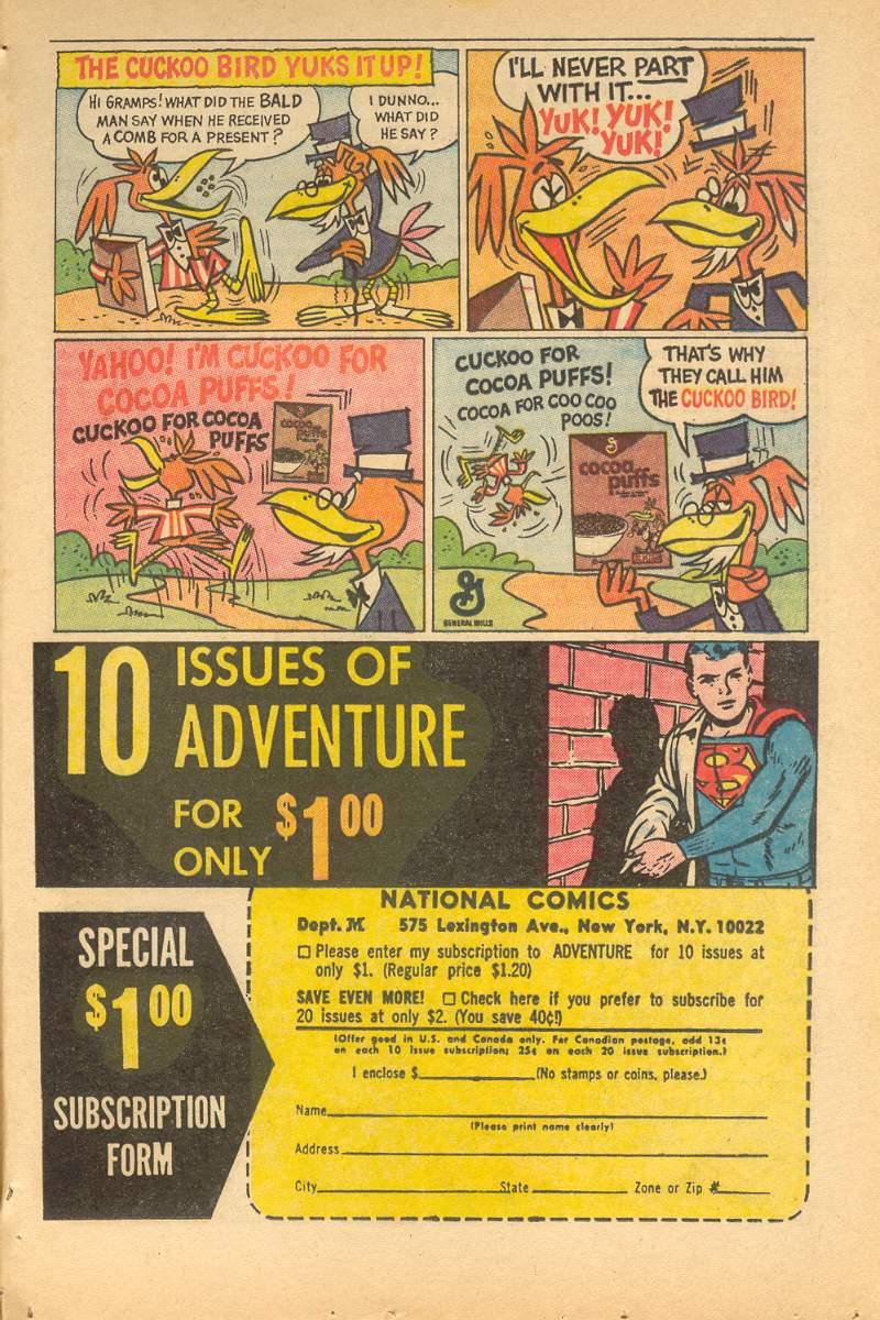 Read online Adventure Comics (1938) comic -  Issue #335 - 33
