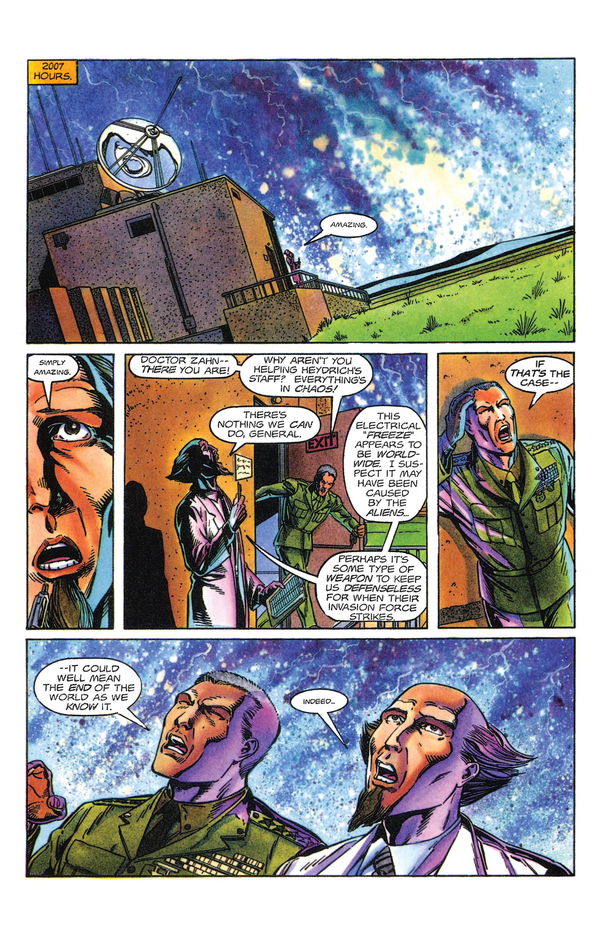 Read online Armorines comic -  Issue #5 - 9