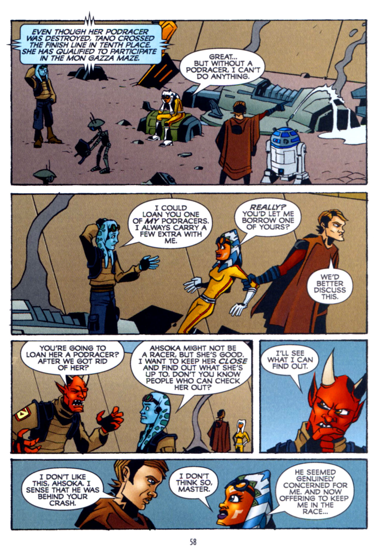 Read online Star Wars: The Clone Wars - Crash Course comic -  Issue # Full - 59