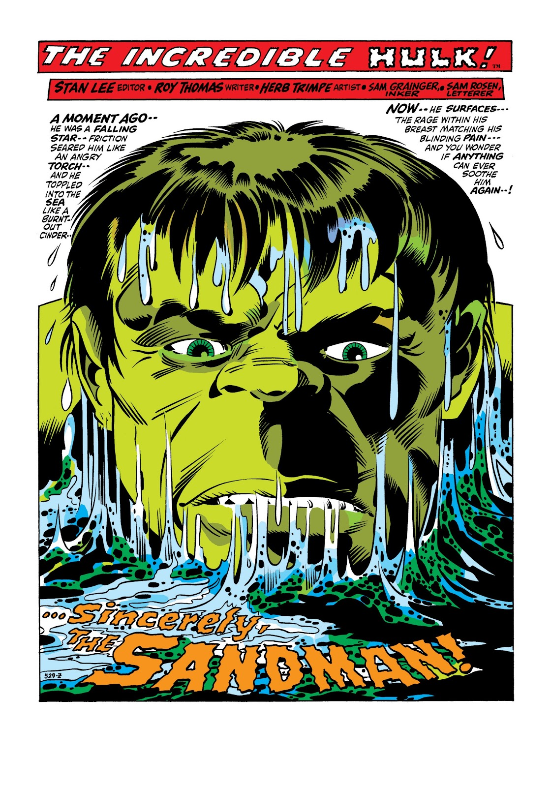 Read online Marvel Masterworks: The Incredible Hulk comic -  Issue # TPB 7 (Part 1) - 68