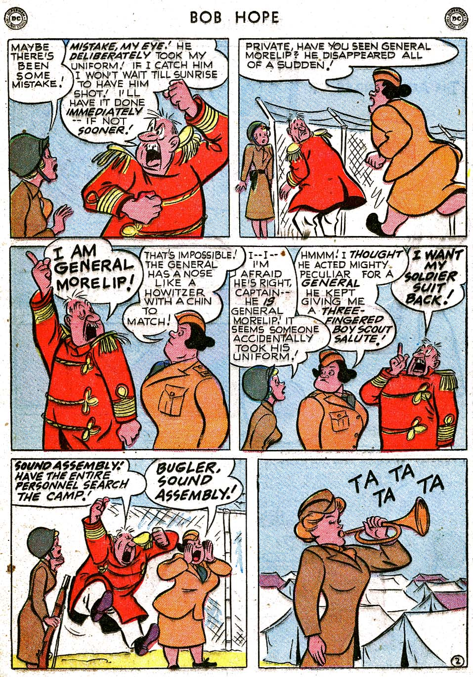 The Adventures of Bob Hope issue 8 - Page 16