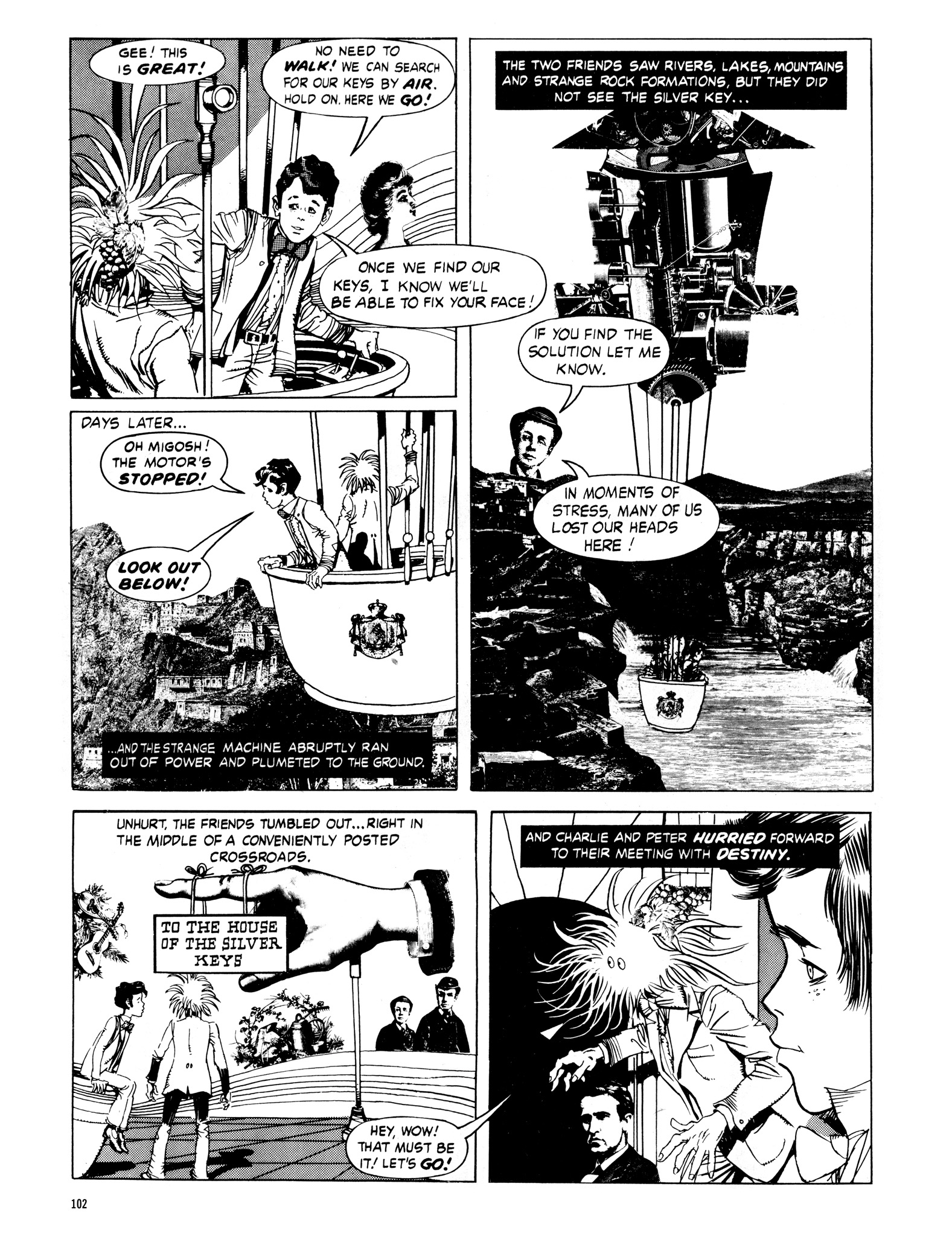 Read online Eerie Archives comic -  Issue # TPB 16 - 103