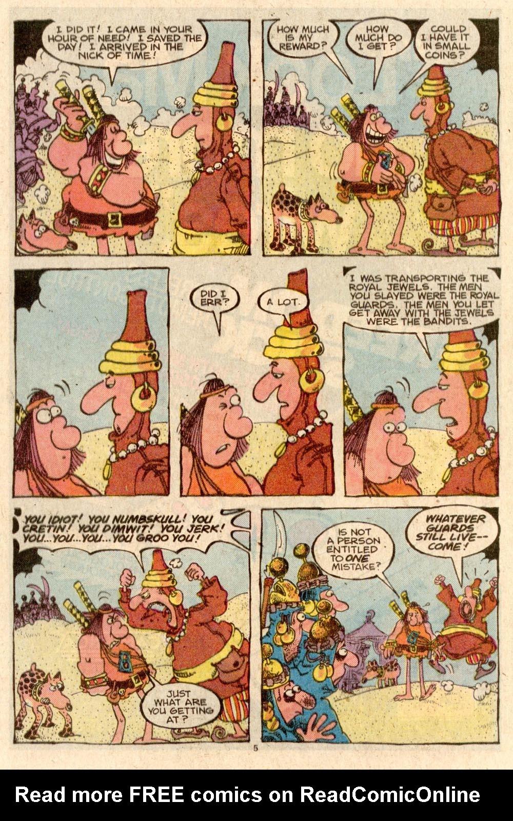 Read online Sergio Aragonés Groo the Wanderer comic -  Issue #44 - 5