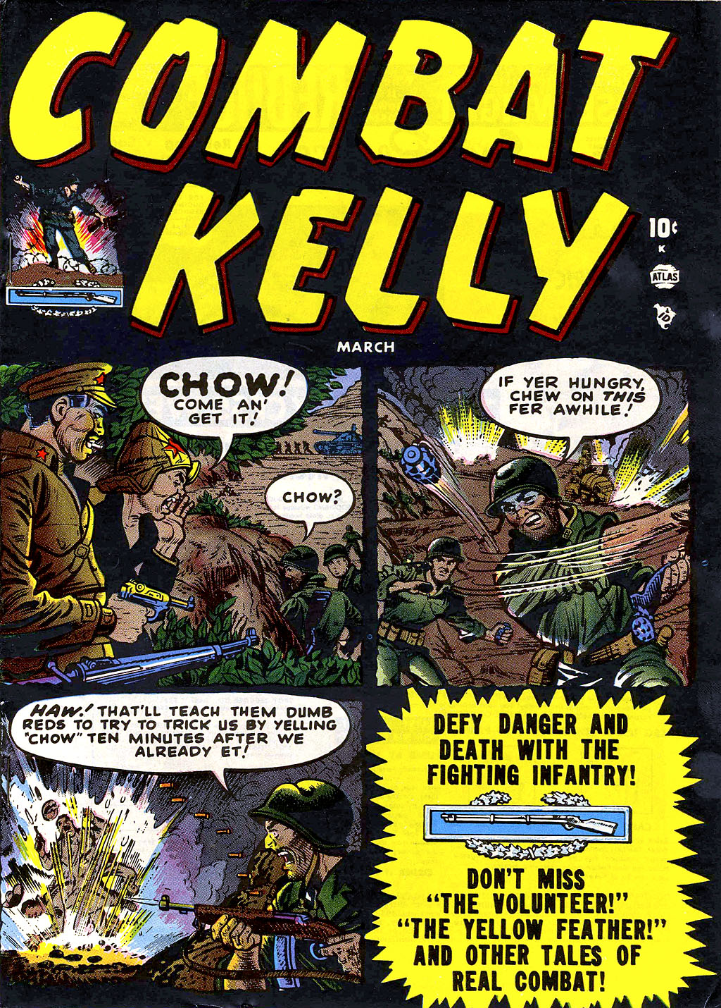 Combat Kelly (1951) issue 3 - Page 1