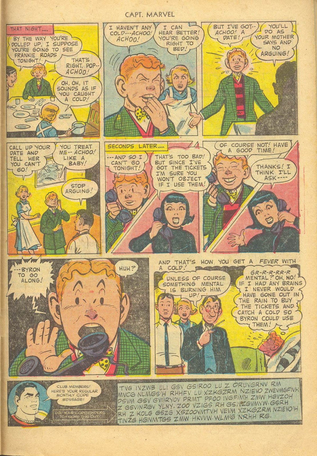Captain Marvel Adventures issue 132 - Page 27