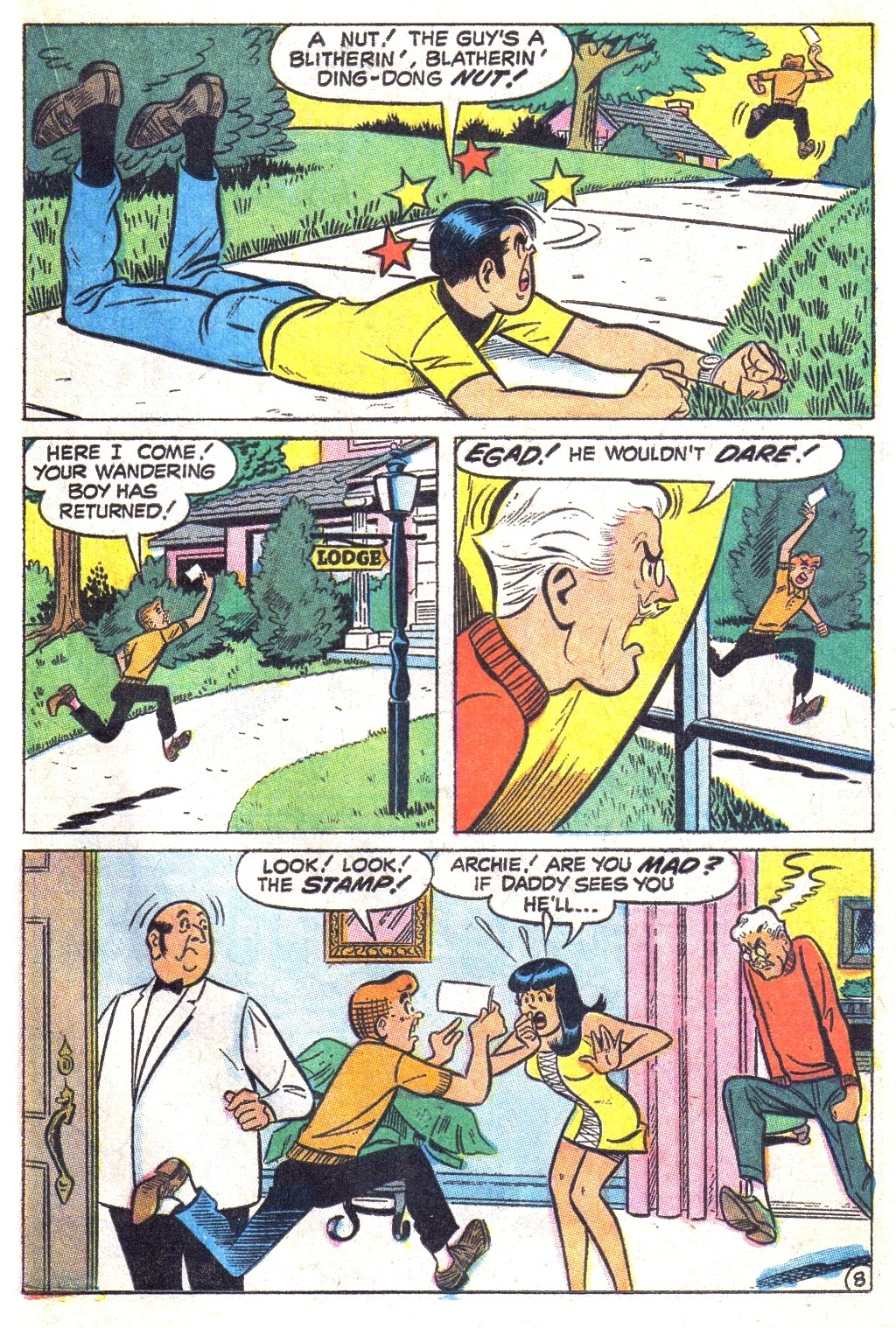 Read online Archie (1960) comic -  Issue #193 - 21