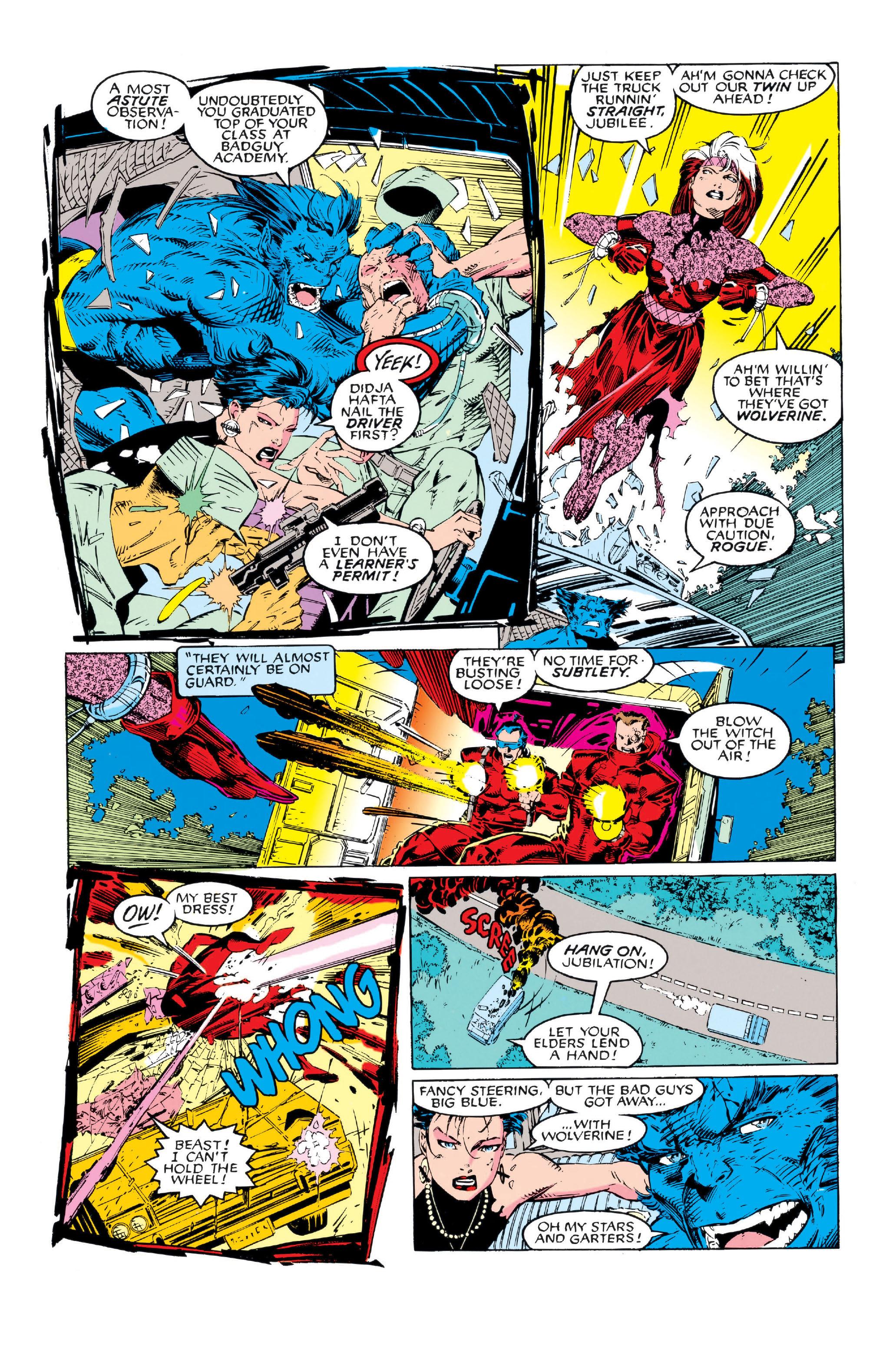 X-Men (1991) 5 Page 4