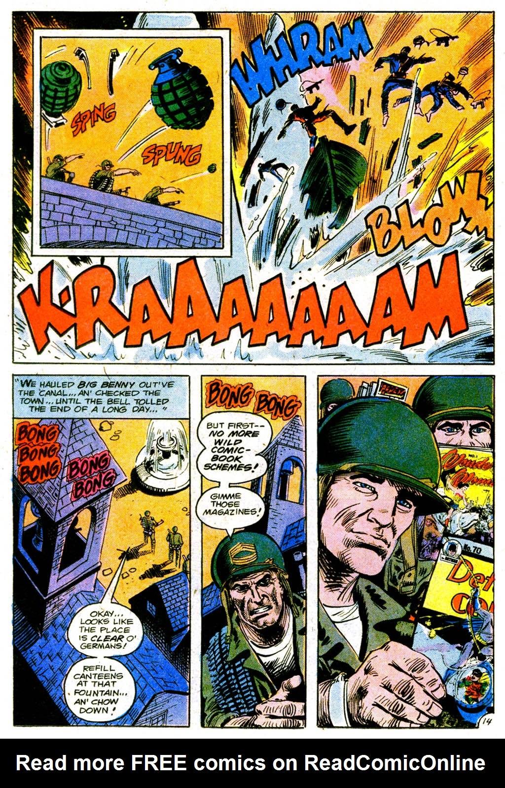 Read online Sgt. Rock comic -  Issue #317 - 25