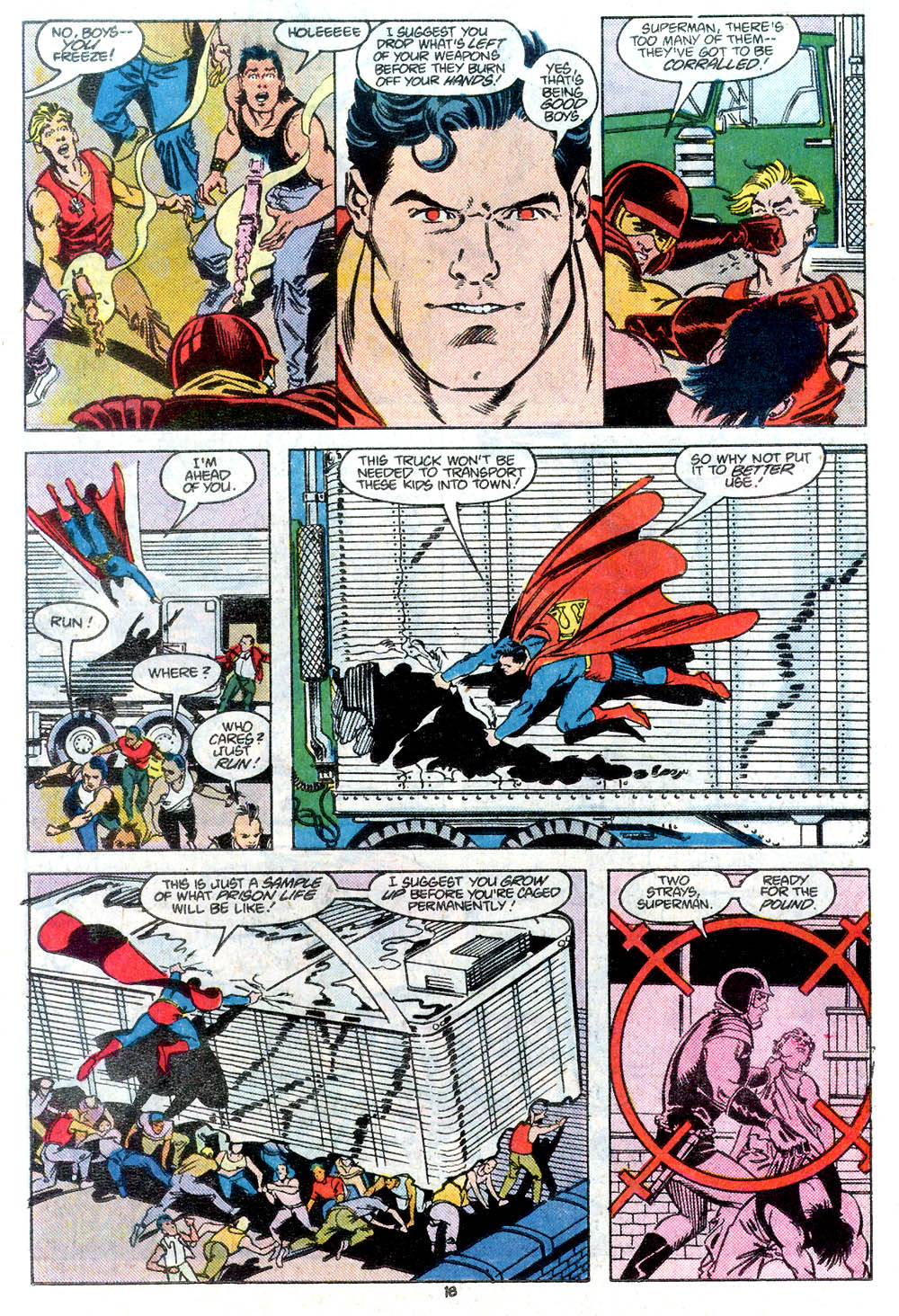 Read online Adventures of Superman (1987) comic -  Issue #434 - 19