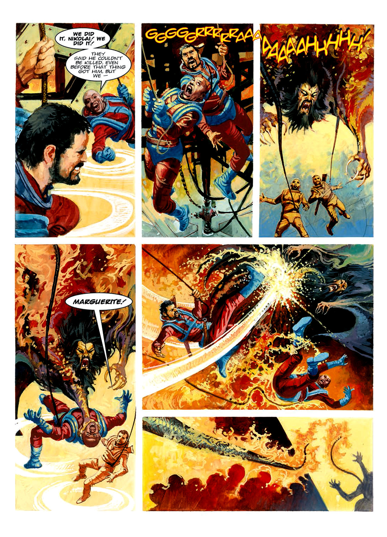 Read online Nikolai Dante comic -  Issue # TPB 6 - 199