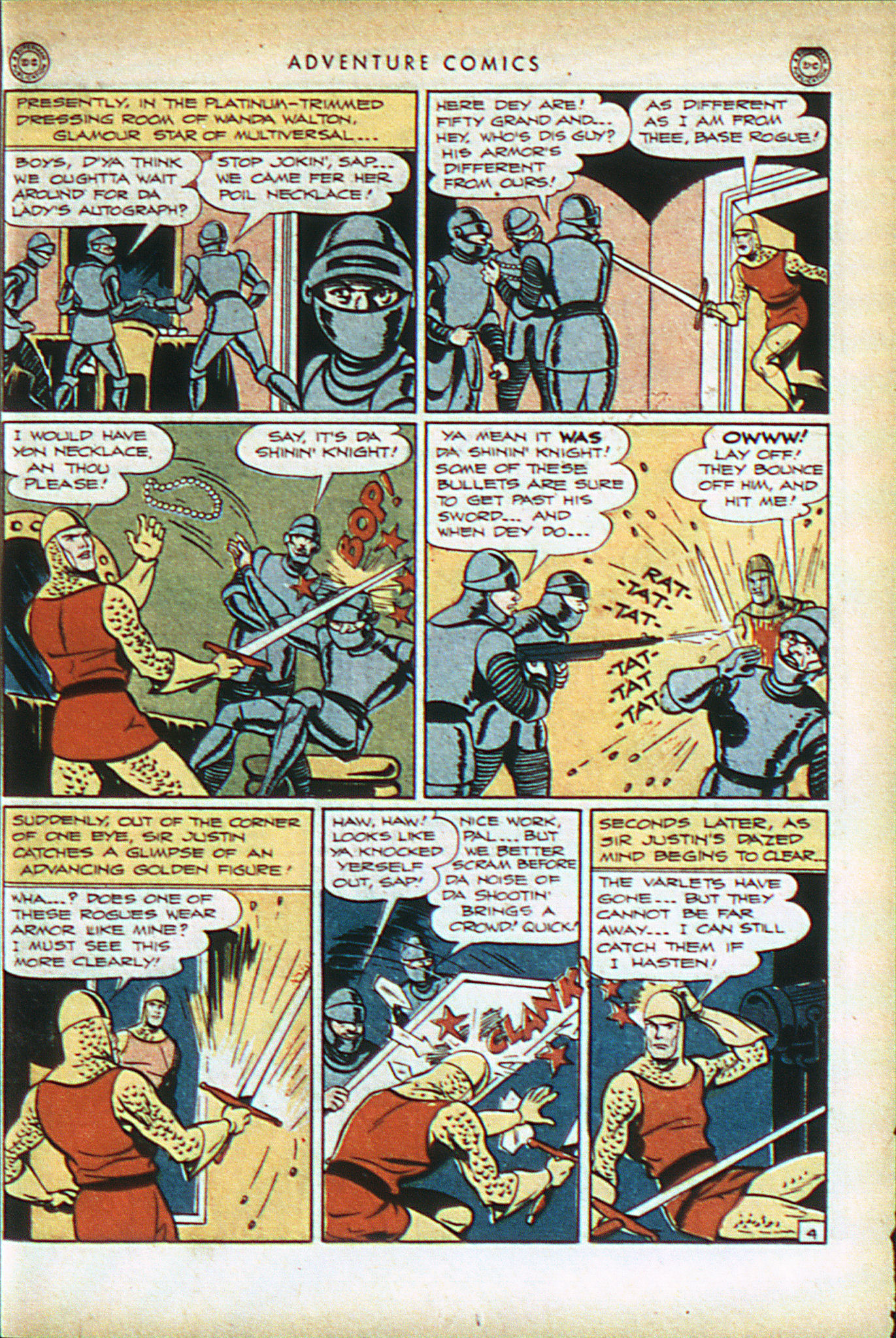 Read online Adventure Comics (1938) comic -  Issue #93 - 18