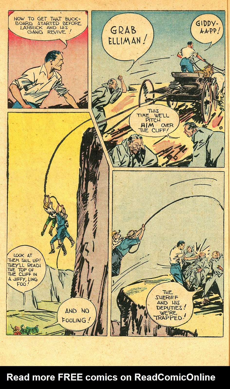 Read online Super-Magician Comics comic -  Issue #56 - 48