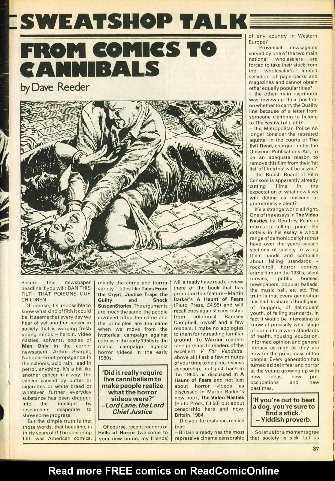 Warrior Issue #25 #26 - English 36