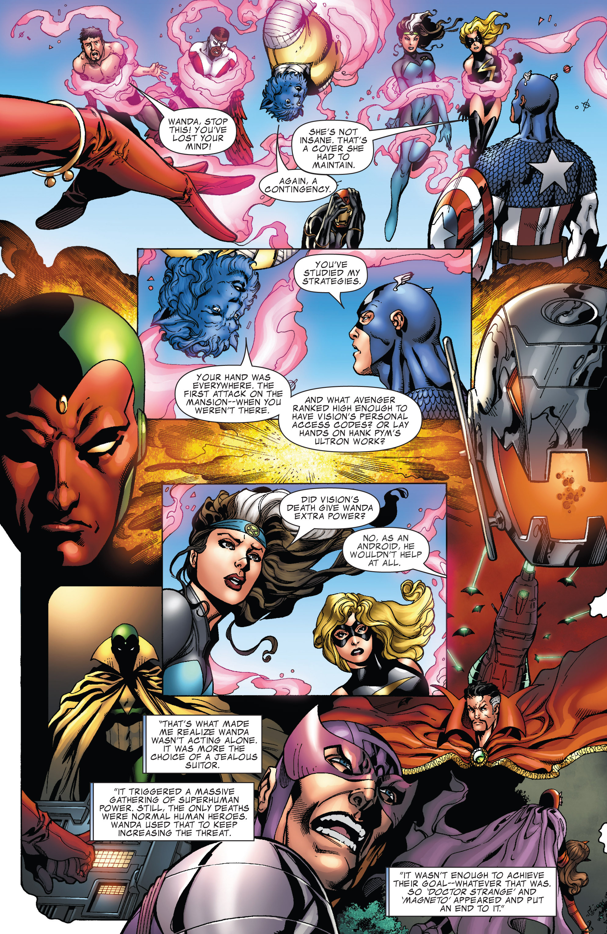 scans_daily | What If? Featuring Avengers Disassembled