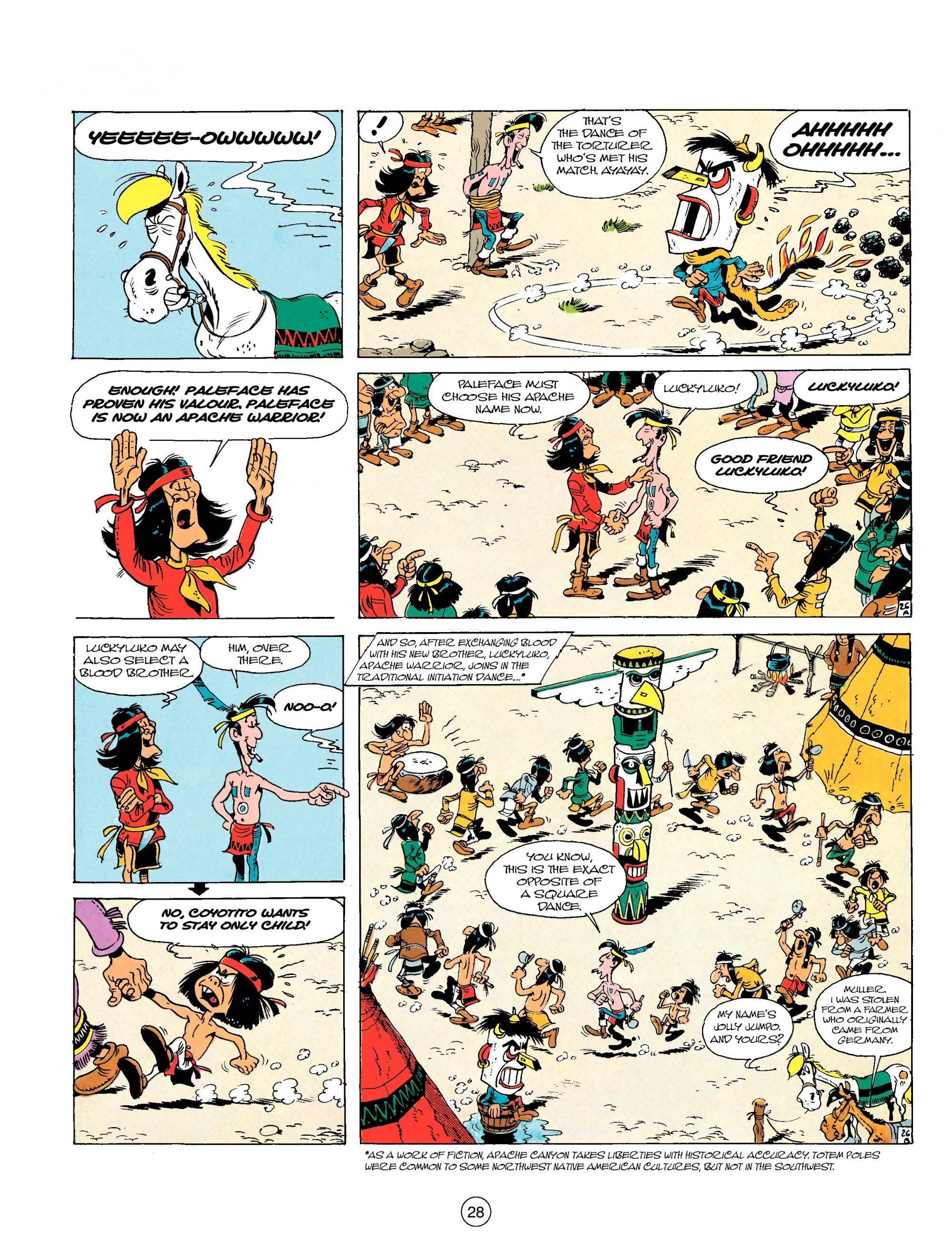 Read online A Lucky Luke Adventure comic -  Issue #17 - 28