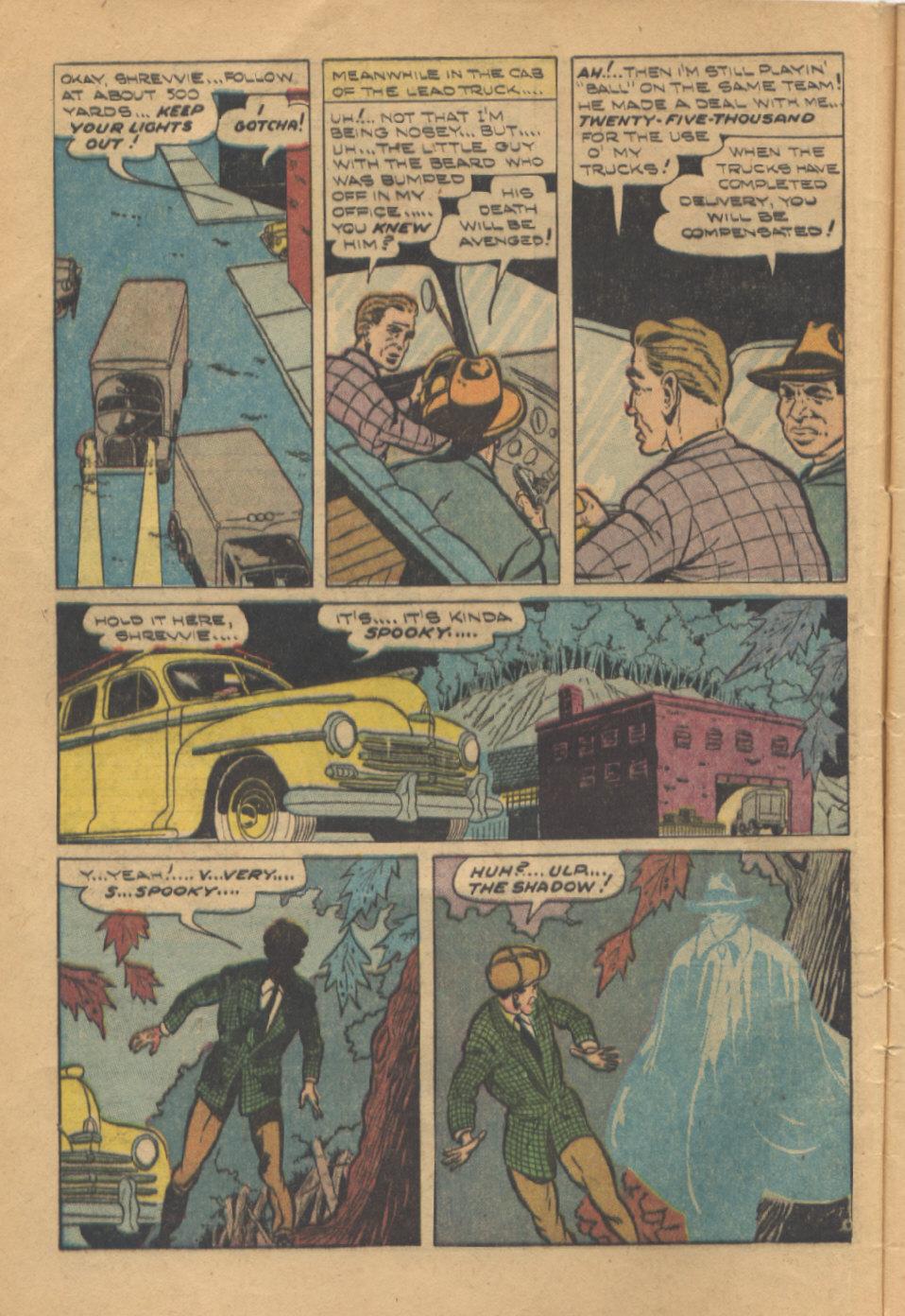 Read online Shadow Comics comic -  Issue #95 - 8