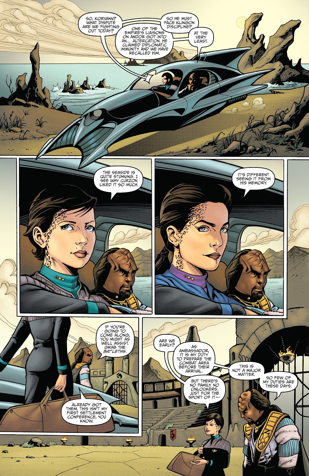 Read online Star Trek: Waypoint Special 2019 comic -  Issue # Full - 35