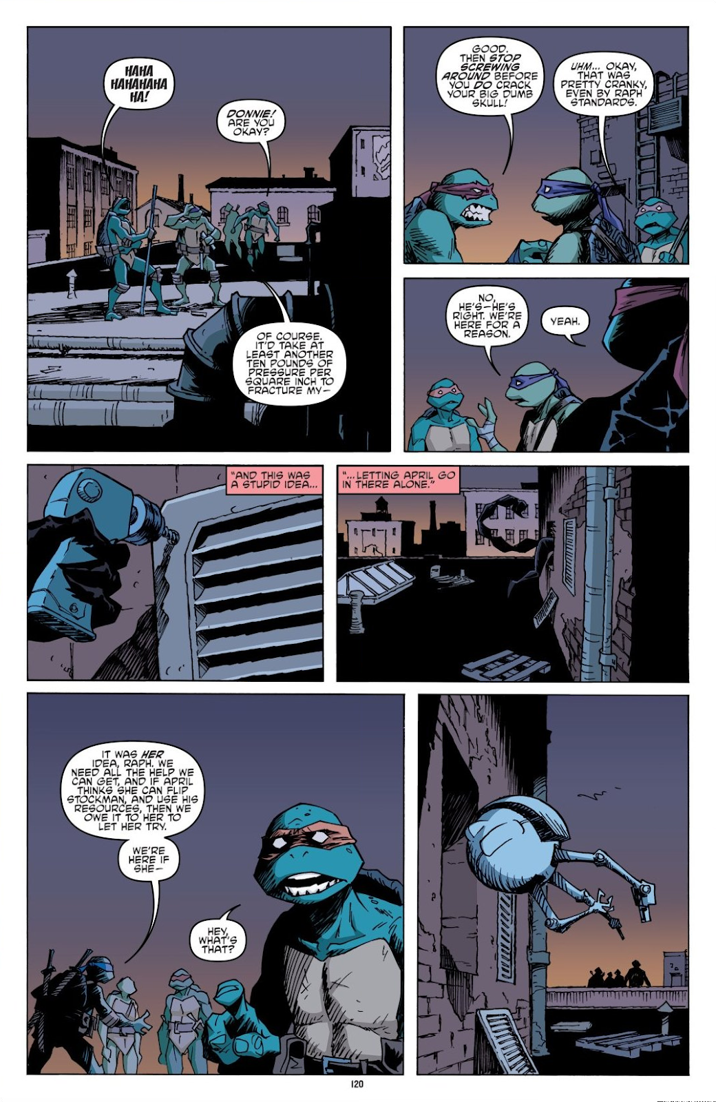 Read online Teenage Mutant Ninja Turtles: The IDW Collection comic -  Issue # TPB 8 (Part 2) - 19