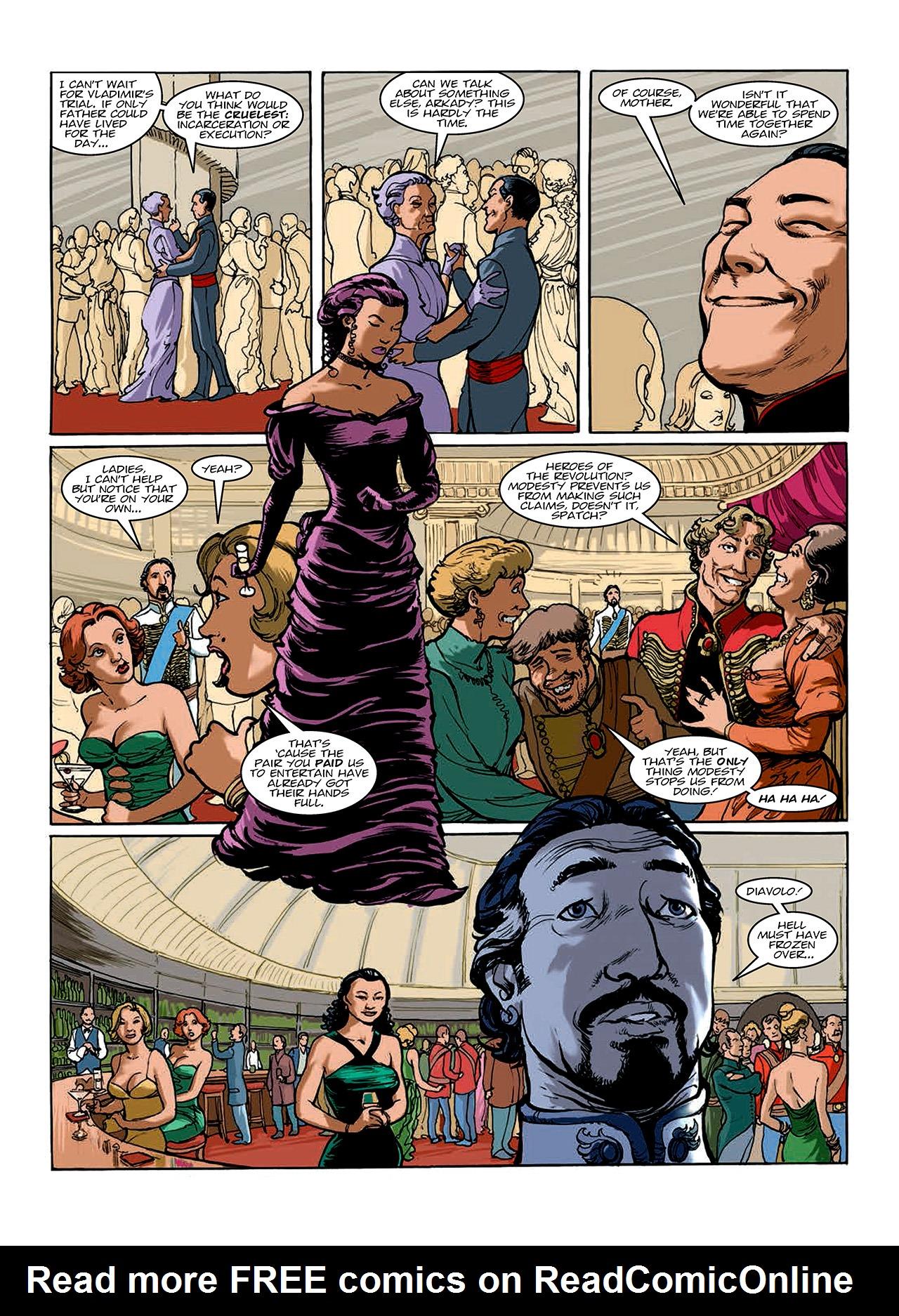 Read online Nikolai Dante comic -  Issue # TPB 10 - 82