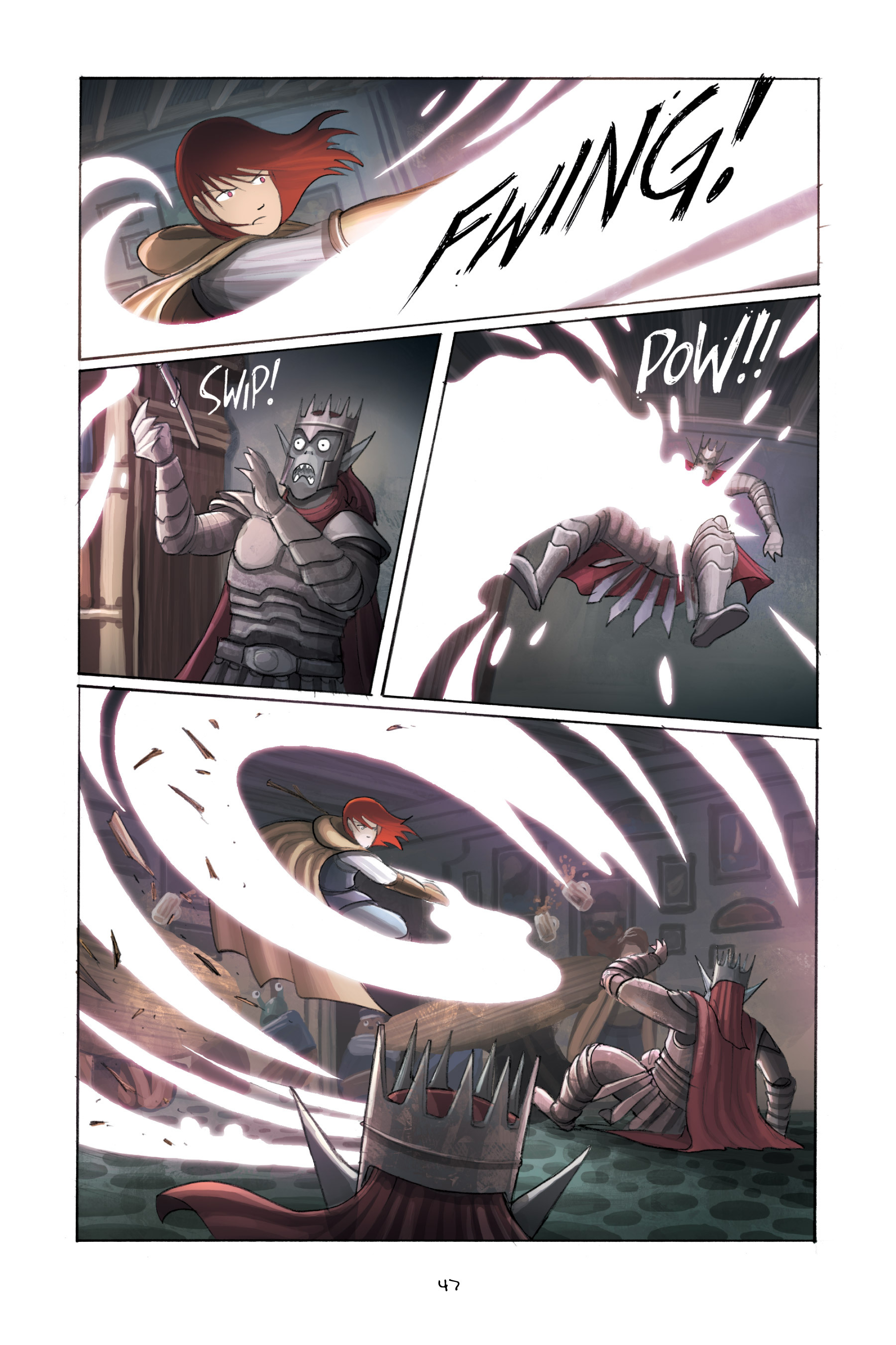 Read online Amulet comic -  Issue #3 - 46