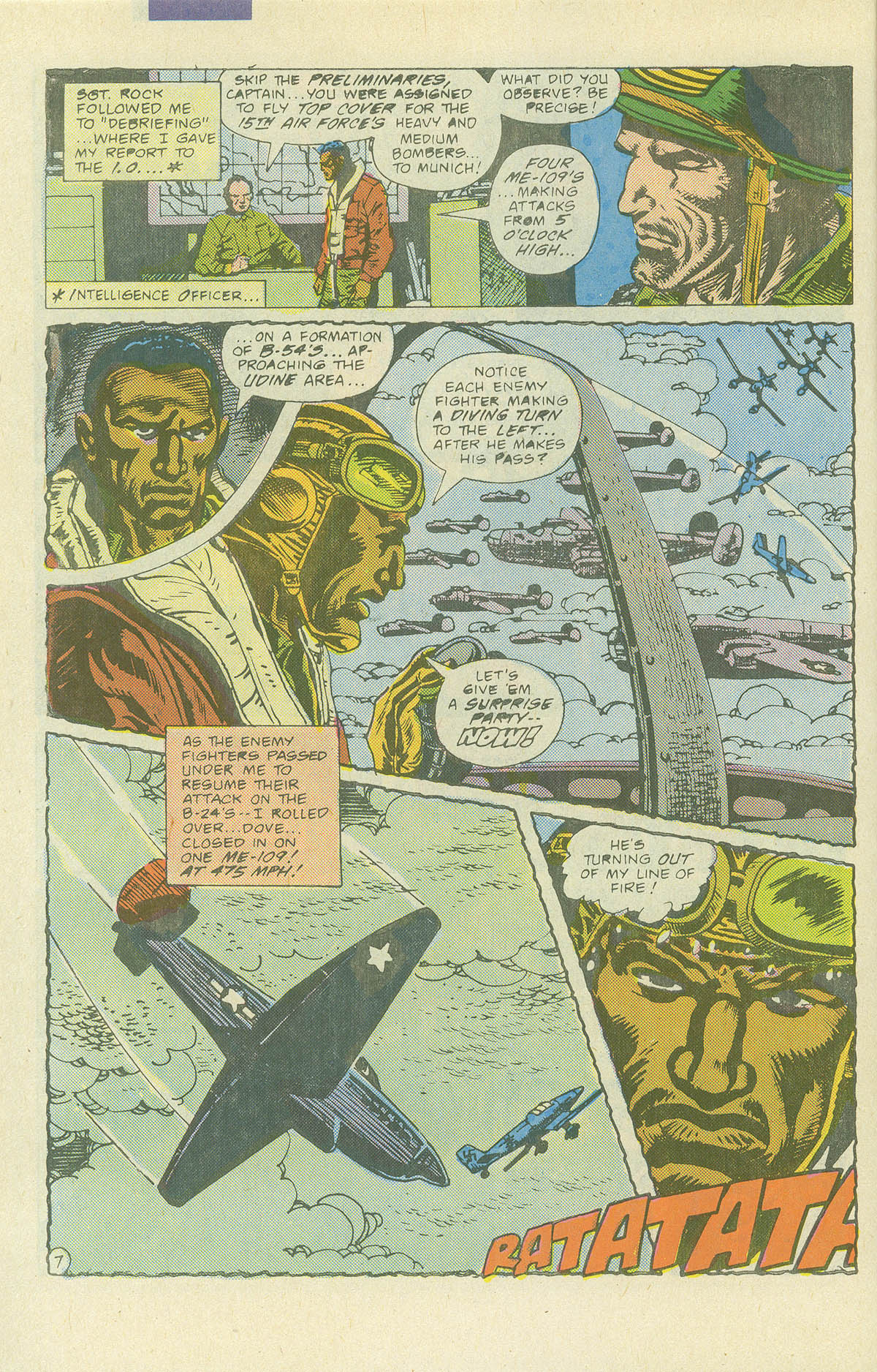 Read online Sgt. Rock comic -  Issue #405 - 9