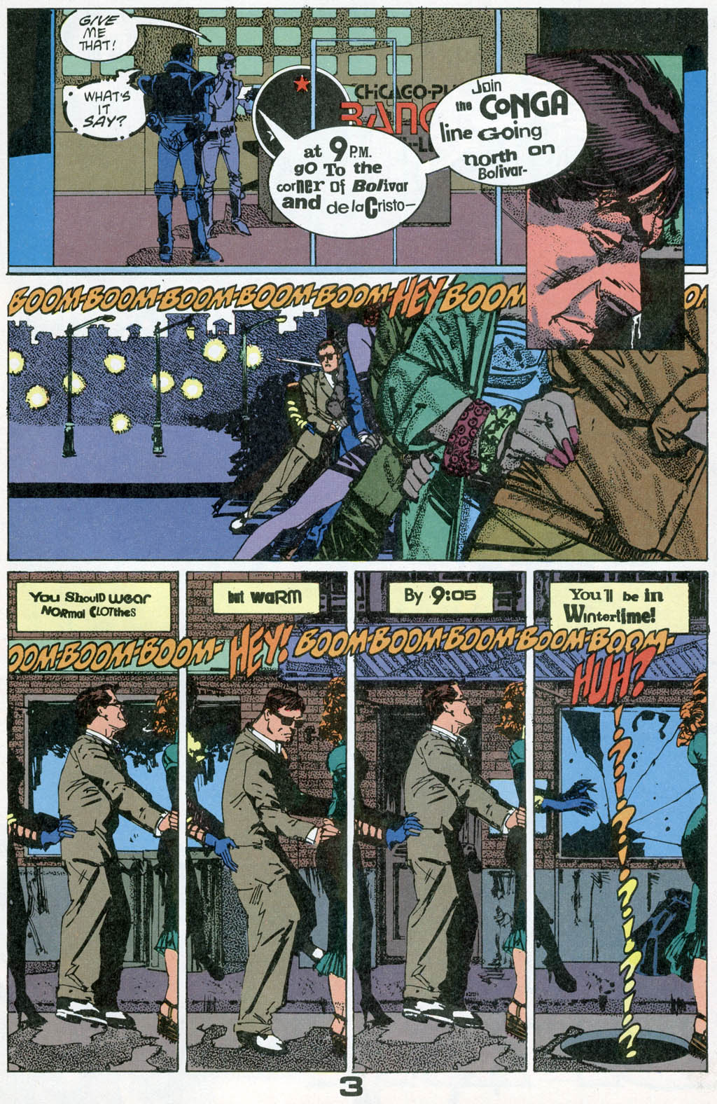 Read online American Flagg! comic -  Issue # _Special 1 - 5