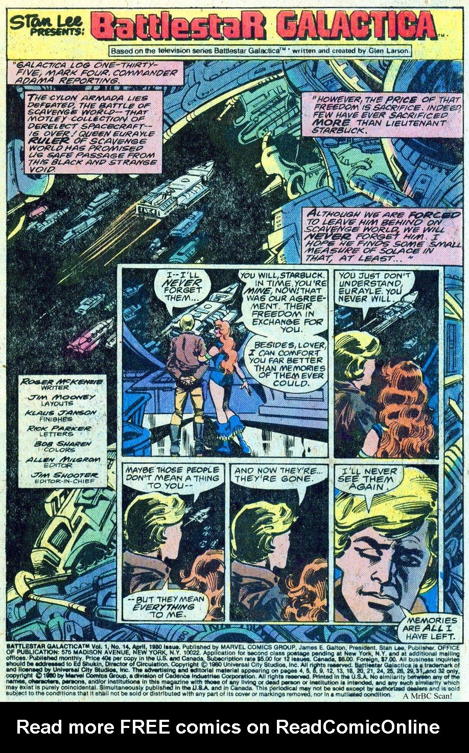 Battlestar Galactica 14 Page 2