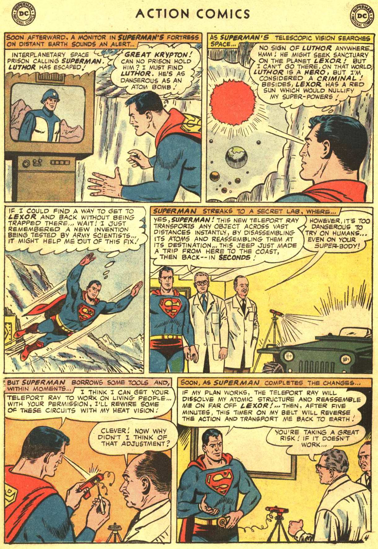 Read online Action Comics (1938) comic -  Issue #332 - 6