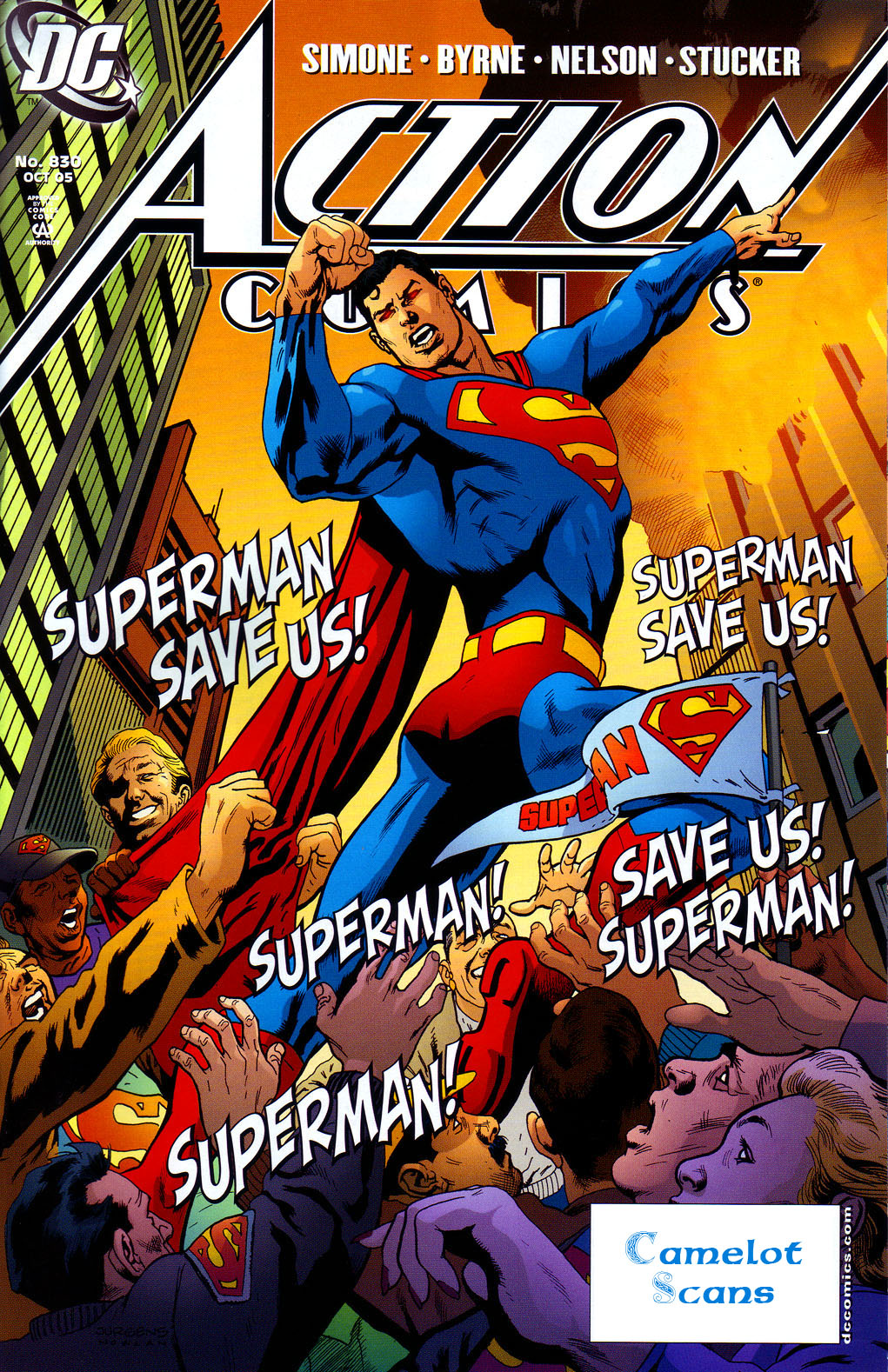 Action Comics (1938) 830 Page 0
