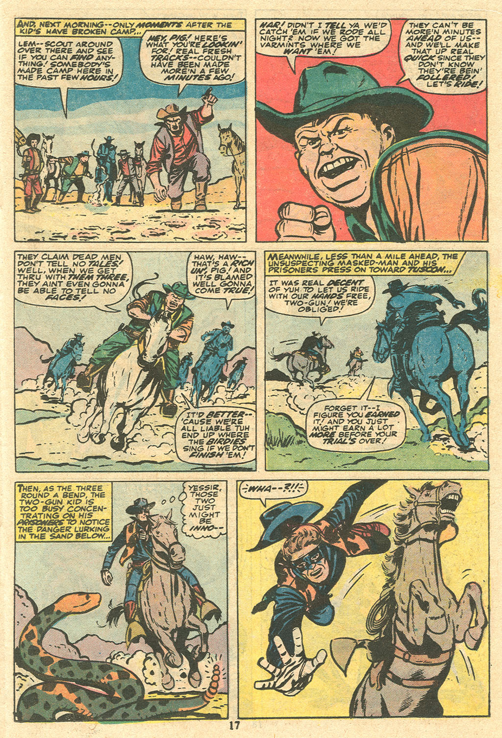 Read online Two-Gun Kid comic -  Issue #117 - 18