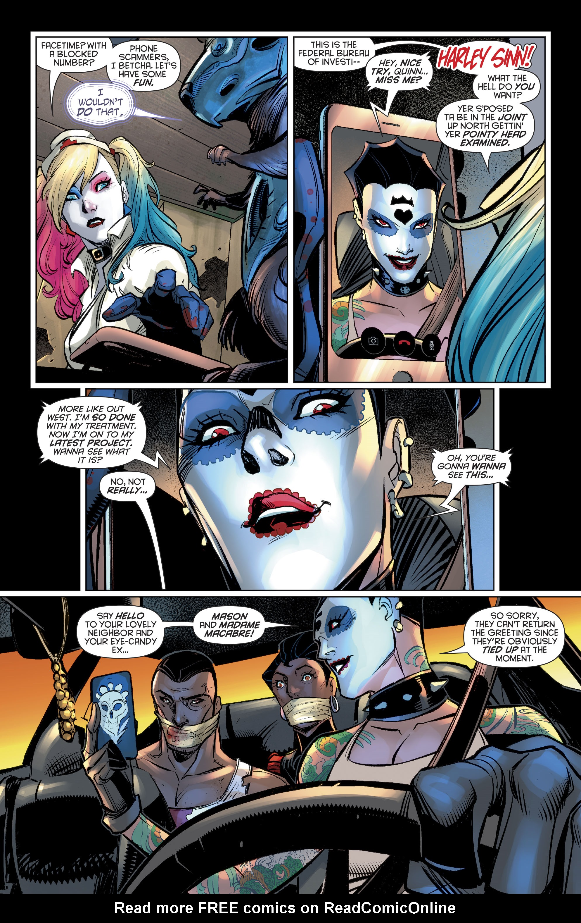 Read online Harley Quinn (2016) comic -  Issue #20 - 7
