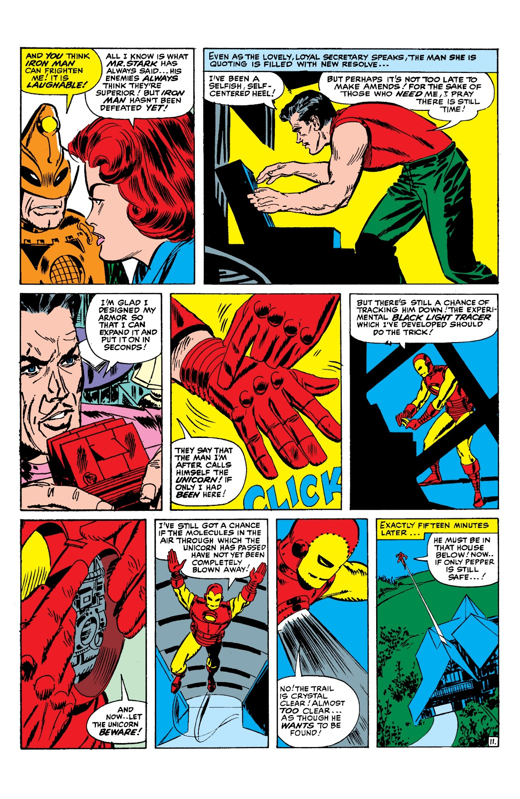 Read online Marvel Masterworks: The Invincible Iron Man comic -  Issue # TPB 2 (Part 1) - 92