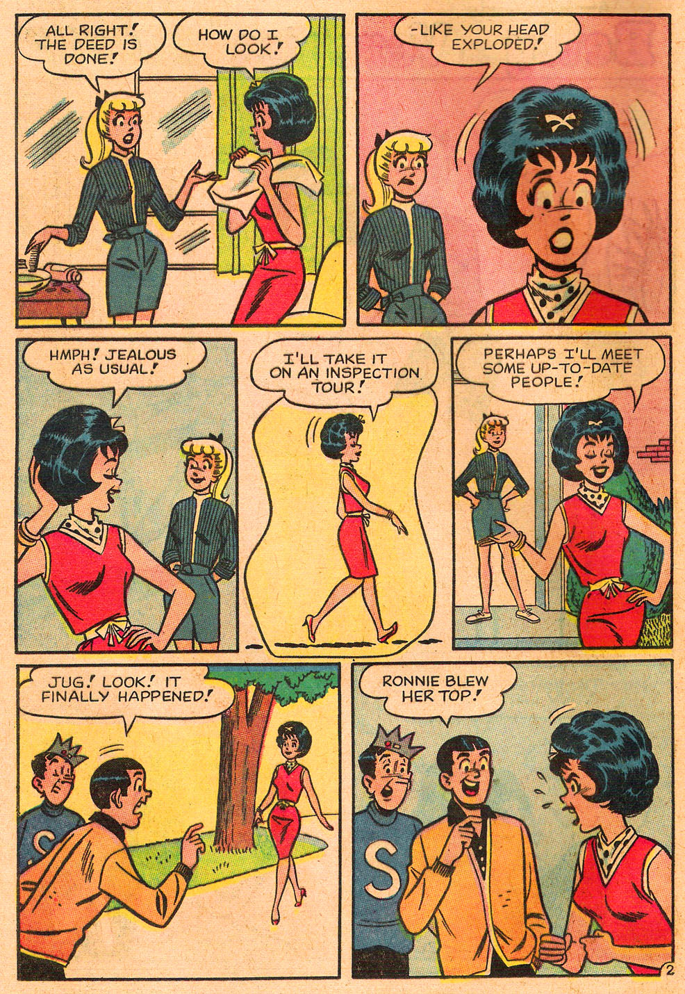 Read online Archie's Girls Betty and Veronica comic -  Issue #85 - 4