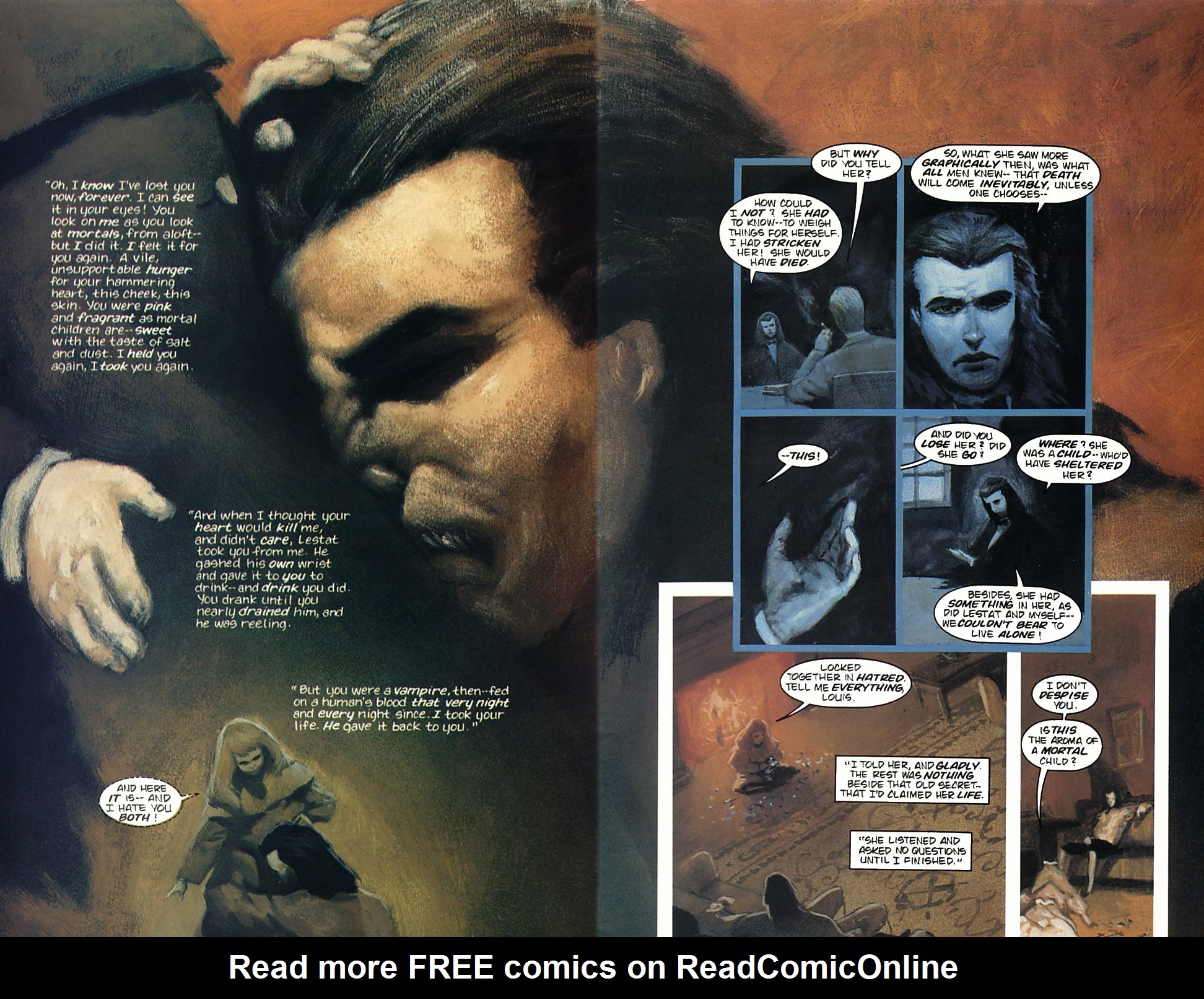 Read online Anne Rice's Interview with the Vampire comic -  Issue #4 - 28