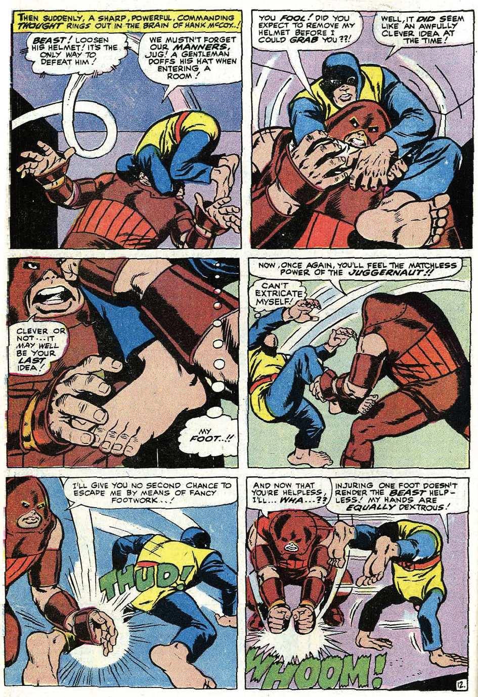 Read online Uncanny X-Men (1963) comic -  Issue #67 - 40