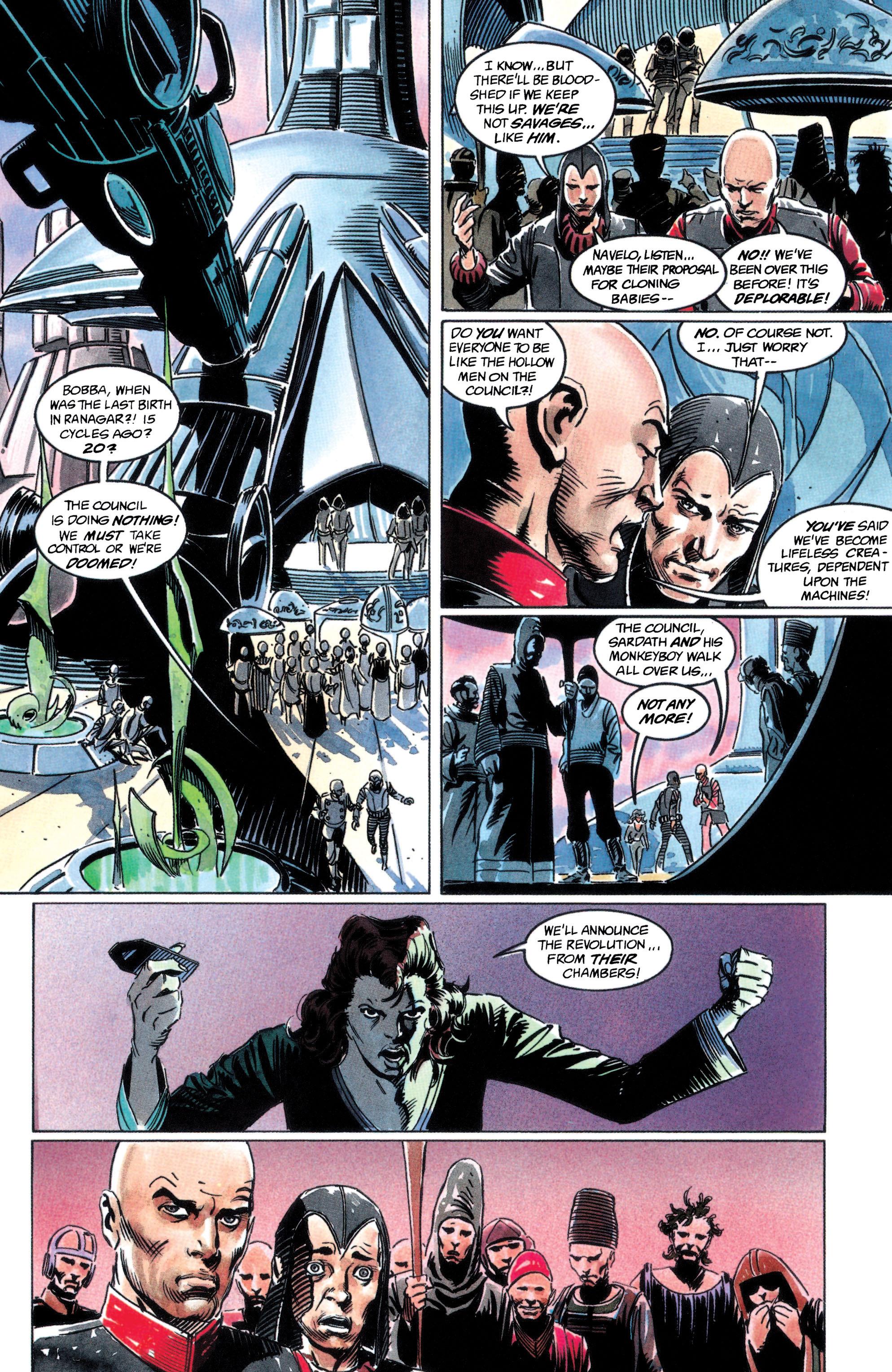 Read online Adam Strange (1990) comic -  Issue #2 - 16
